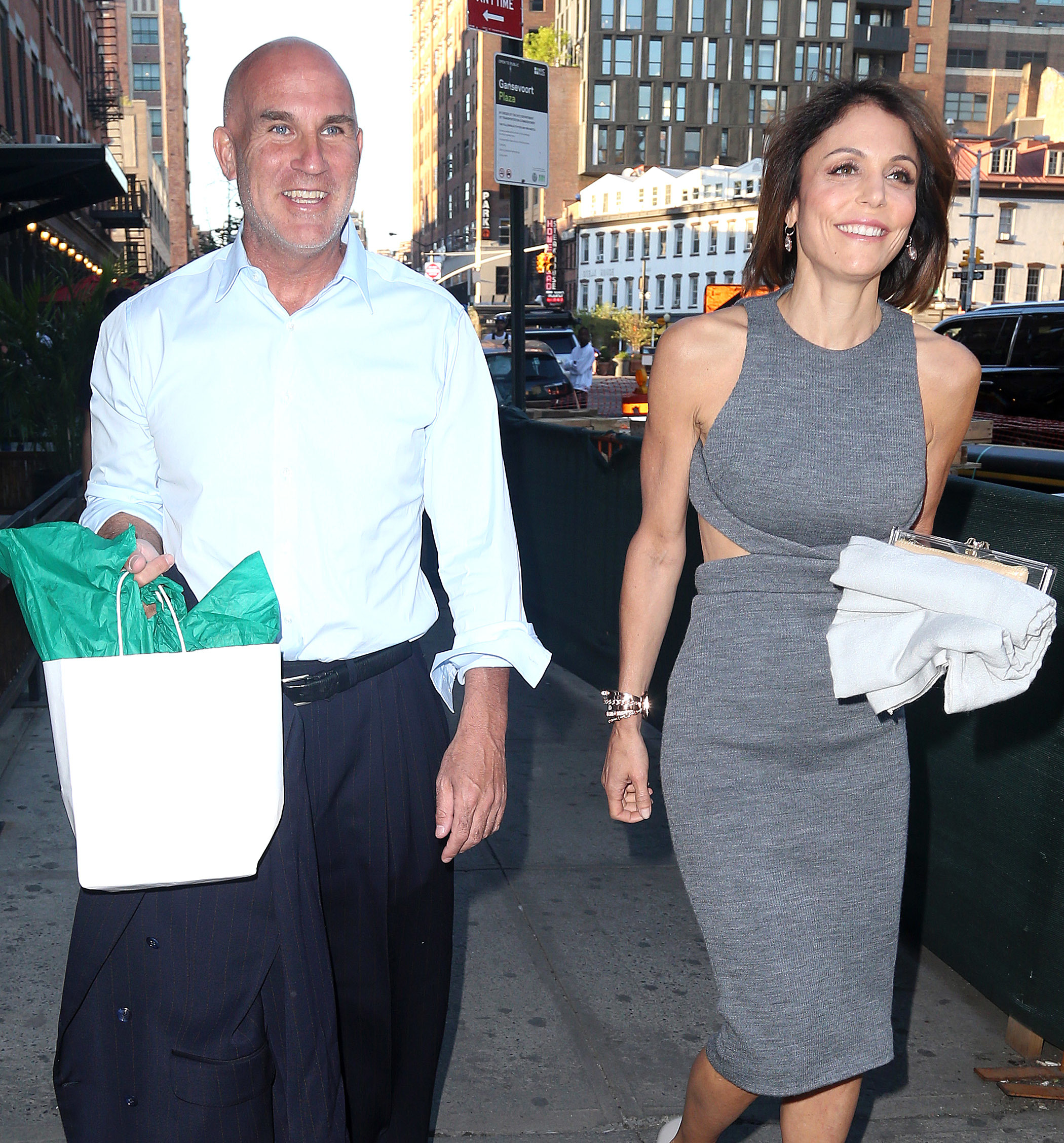 Bethenny Frankel, Russ Theriot and Dennis Shields
