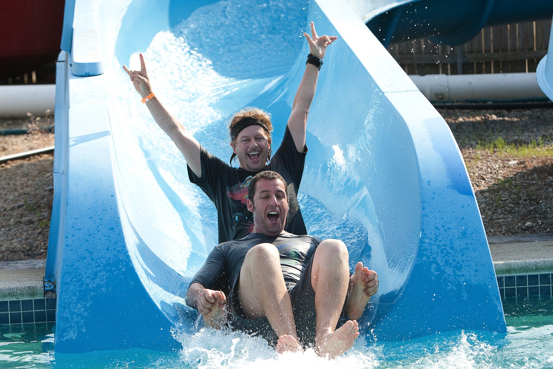 "David Spade and Adam Sandler in ""Grown Ups"" in 2010."