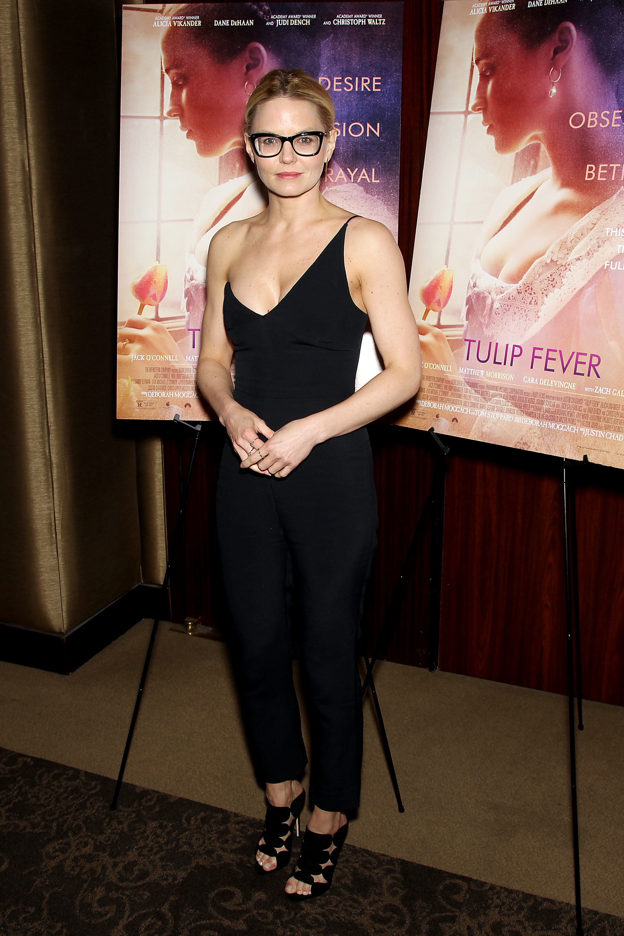 """Jennifer Morrison attends a special screening of """"Tulip Fever"""" in New York City on Aug. 29, 2017."""