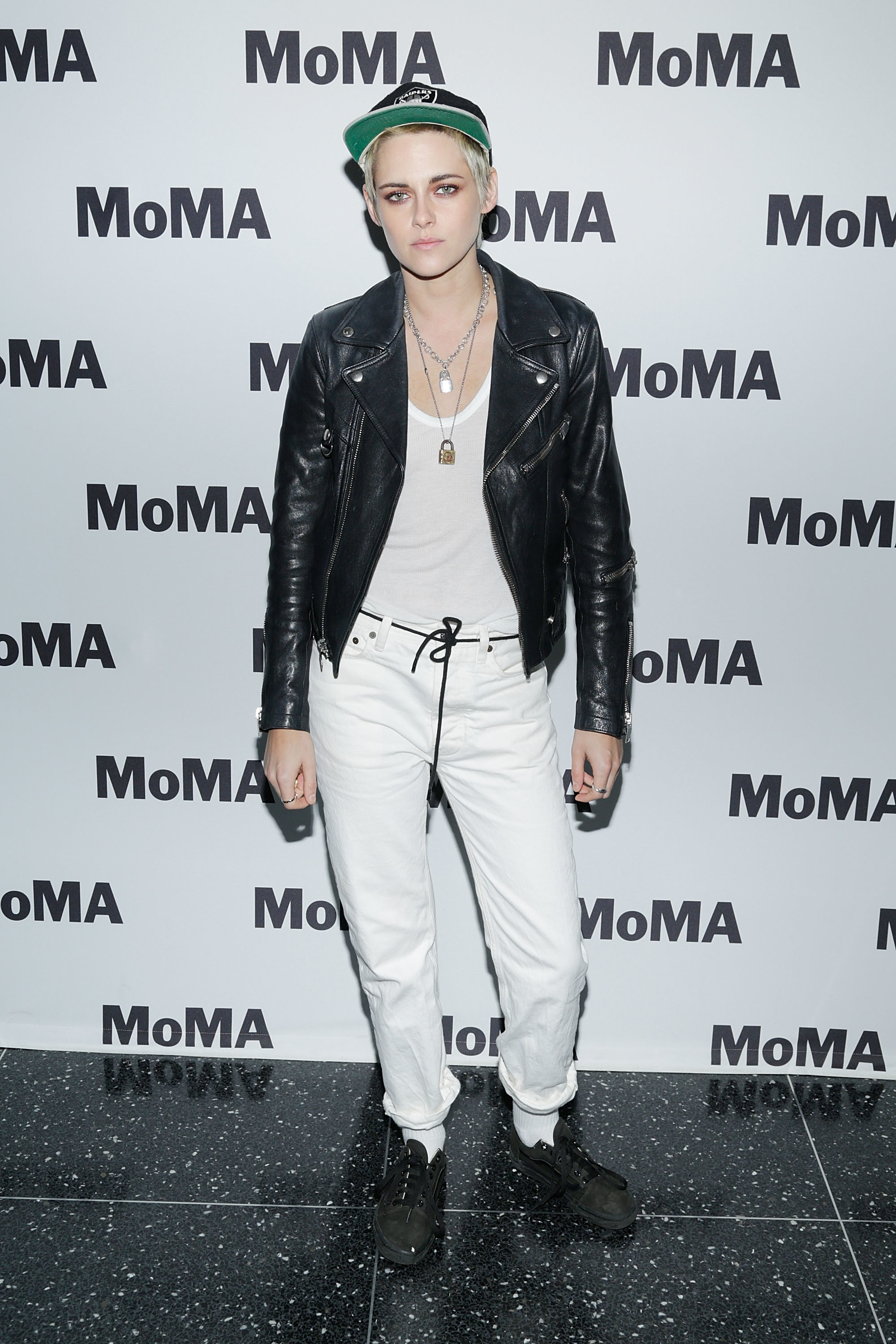 """Kristen Stewart attends the MOMA Screening of Refinery29's """"Come Swim"""" directed by Kristen Stewart at MOMA in New York City on Aug. 30, 2017."""