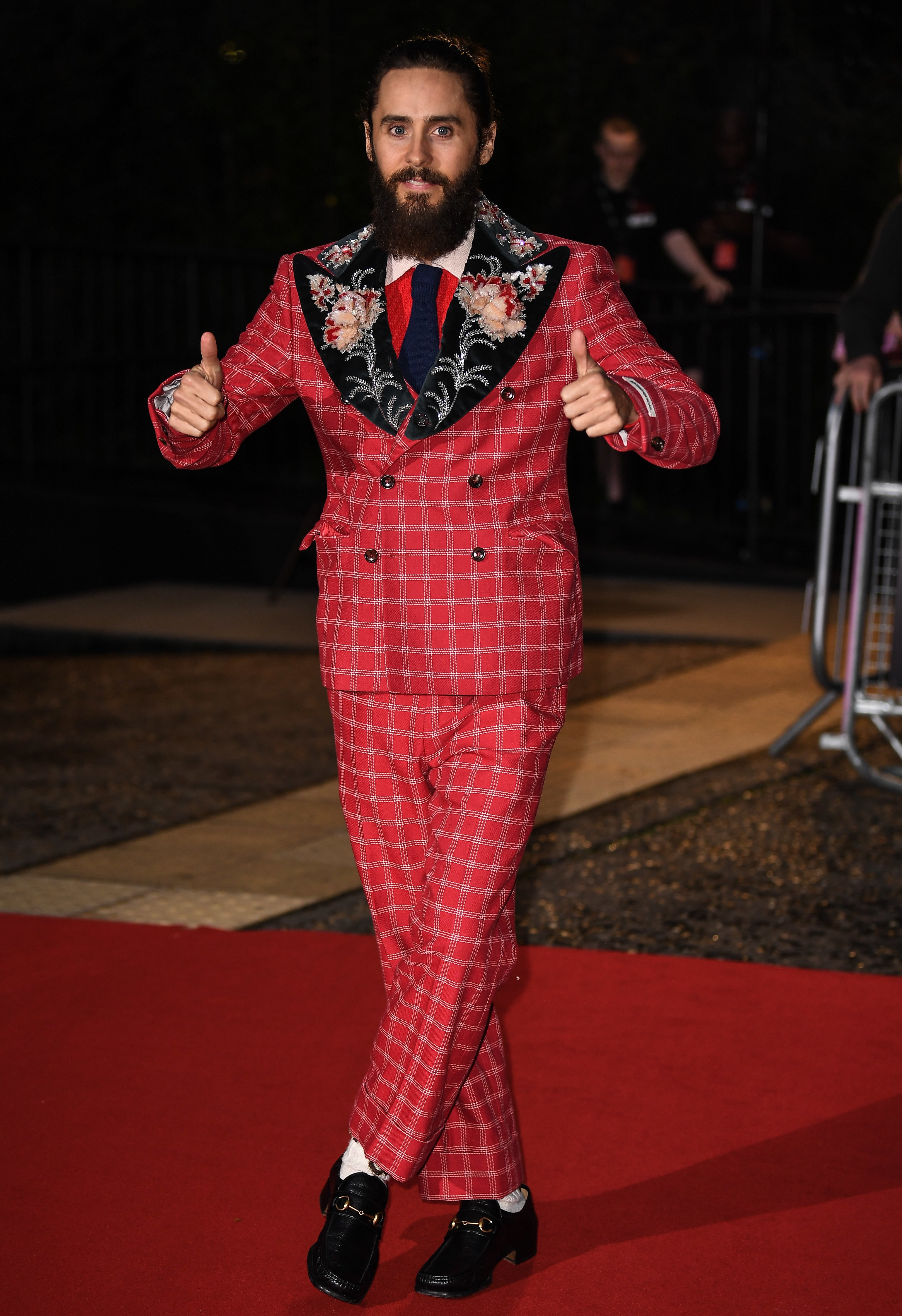 Jared Leto attends the GQ Men of the Year Awards at Tate Modern in London on Sept. 5, 2017.