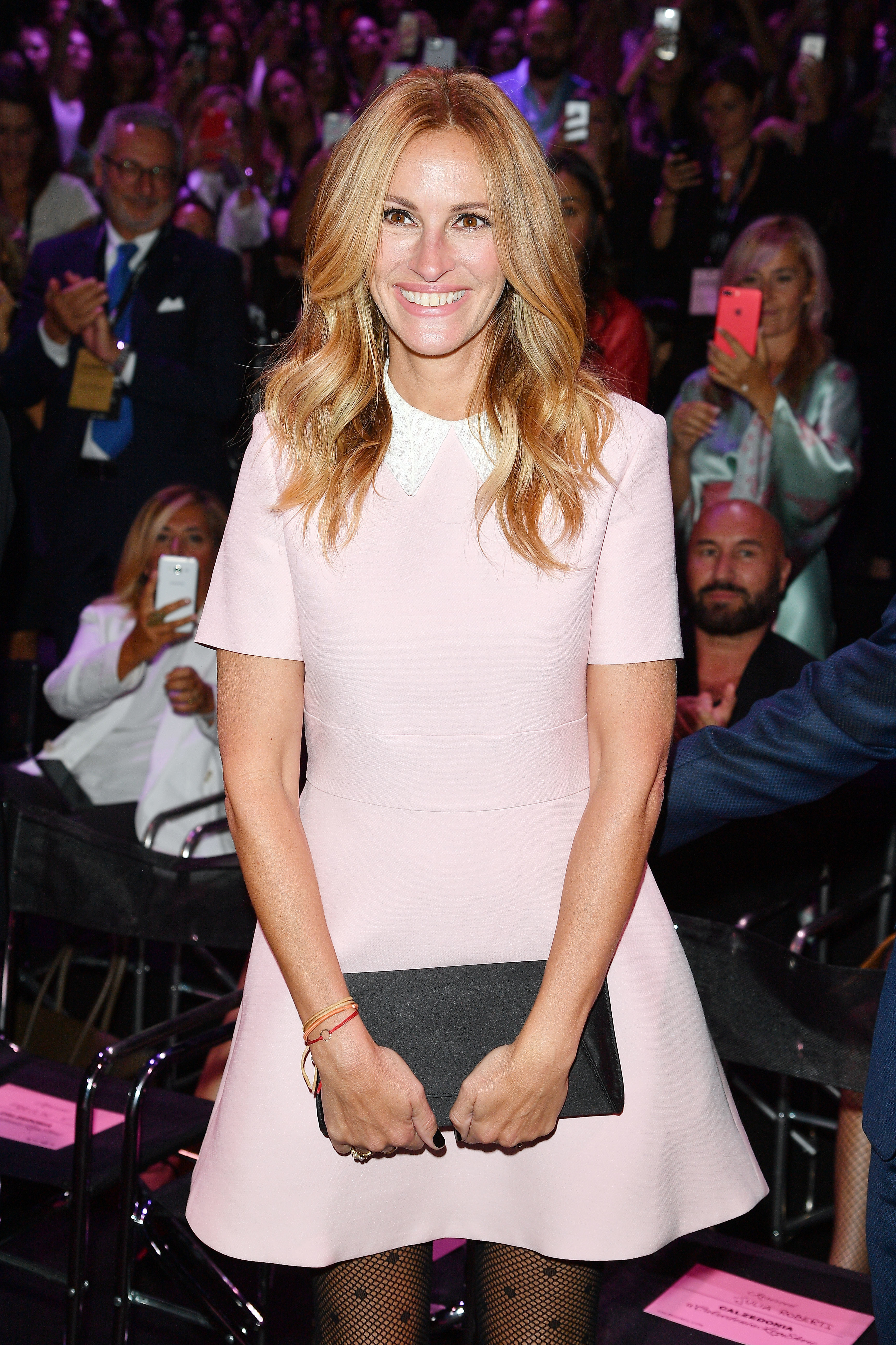 Julia Roberts attends Calzedonia Legs Show  in Verona, Italy, on Sept. 5, 2017.