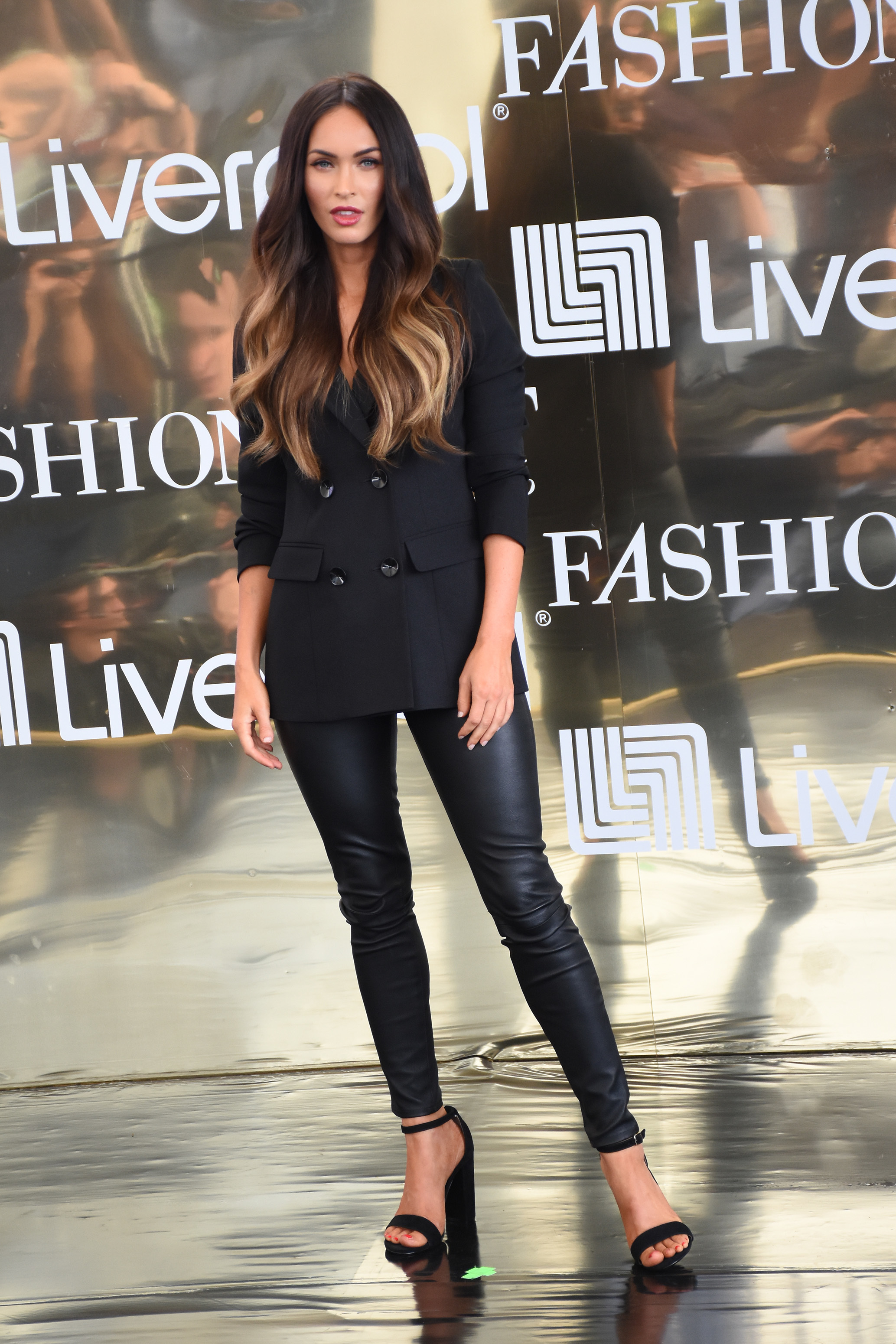 Megan Fox attends  at press conference to promote Fashion Fest Autumn/ Winter 2017  at Liverpool Insurgentes in Mexico City, Mexico, on Sept. 06, 2017.