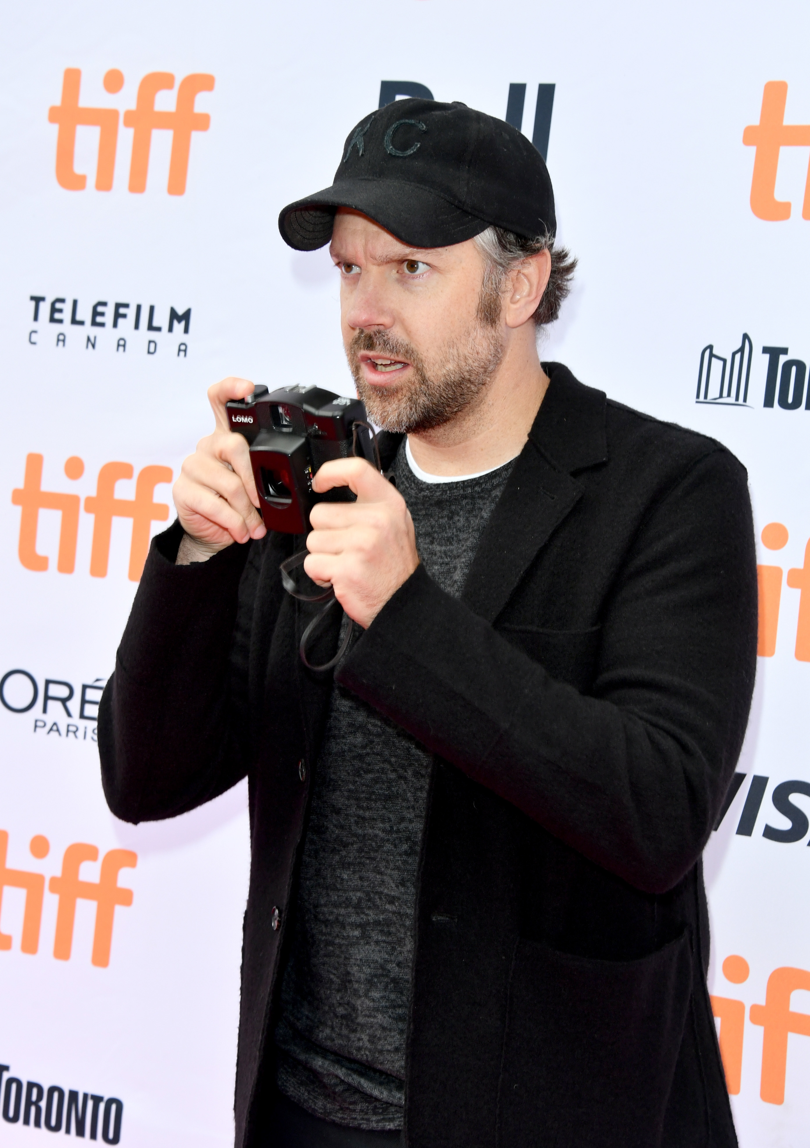 """Jason Sudeikis attends the """"Kodachrome"""" premiere during the 2017 Toronto International Film Festival at Princess of Wales Theatre in Toronto on Sept. 8, 2017."""