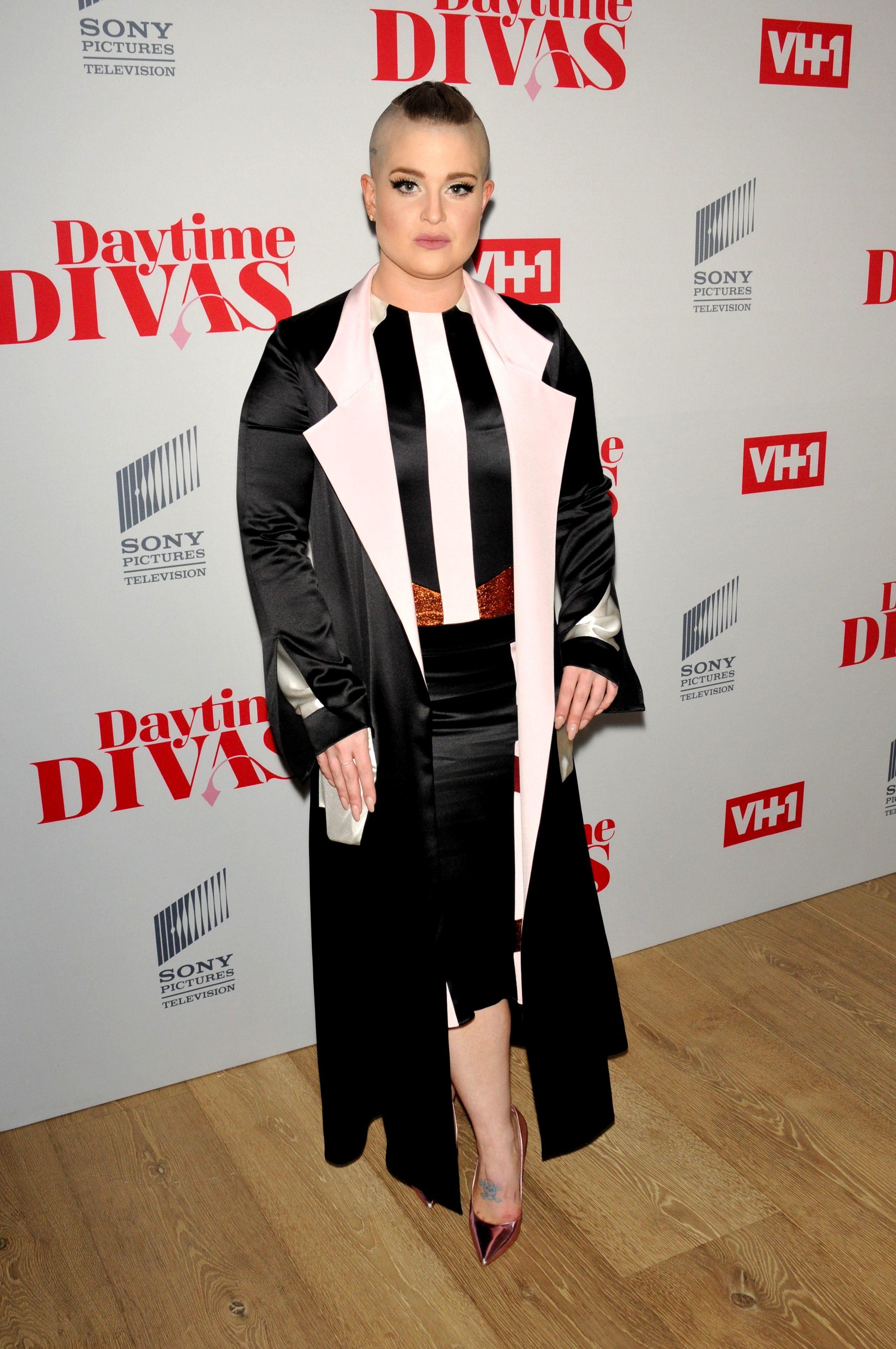 "Kelly Osbourne attends VH1's ""Daytime Divas"" screening in New York City on June 1, 2017."