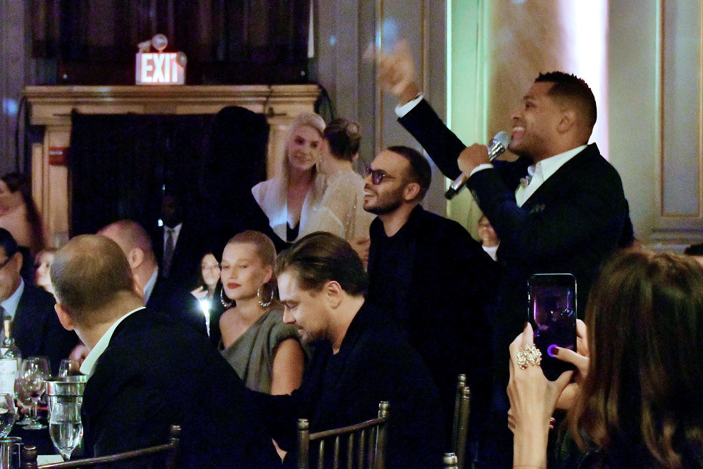 Exes Leonardo DiCaprio and Toni Garrn spotted out together again