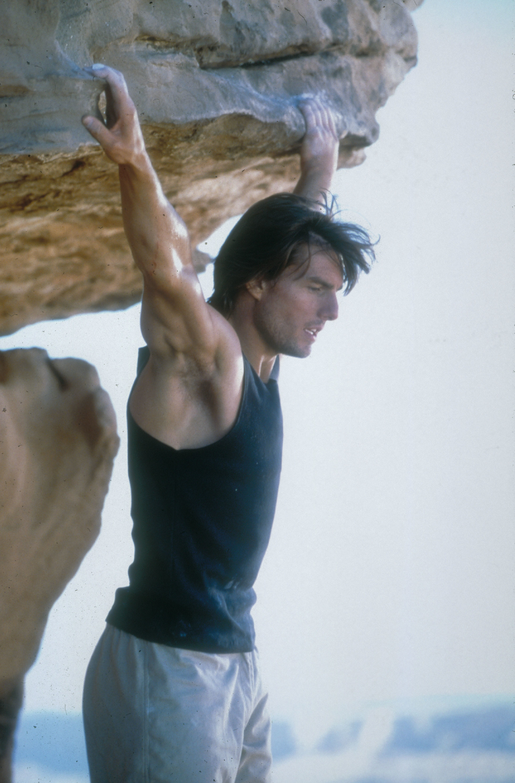 "Tom Cruise stars in ""Mission: Impossible II"" in 2000."