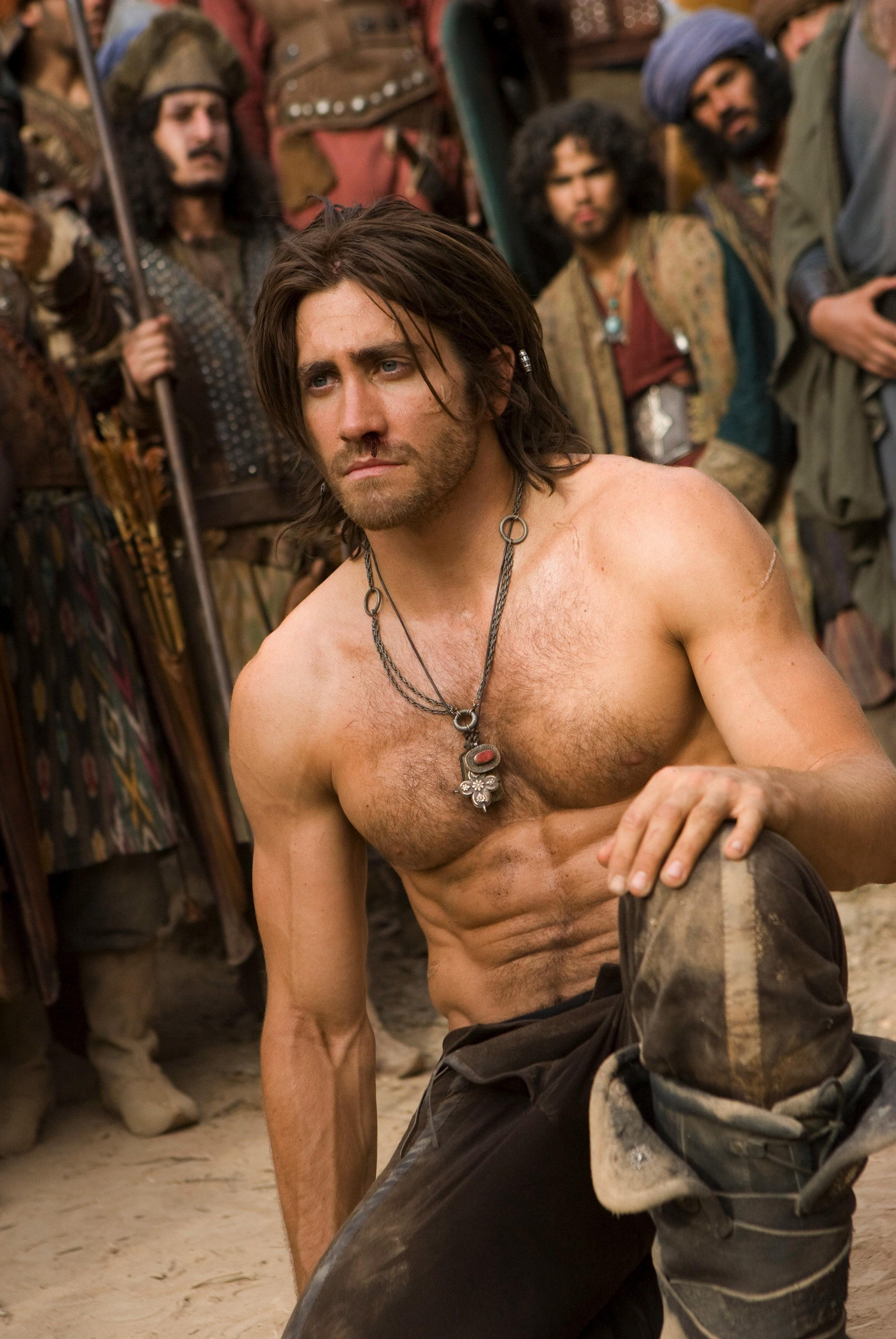 """Jake Gyllenhaal stars in """"Prince Of Persia: The Sands Of Time"""" in 2010."""