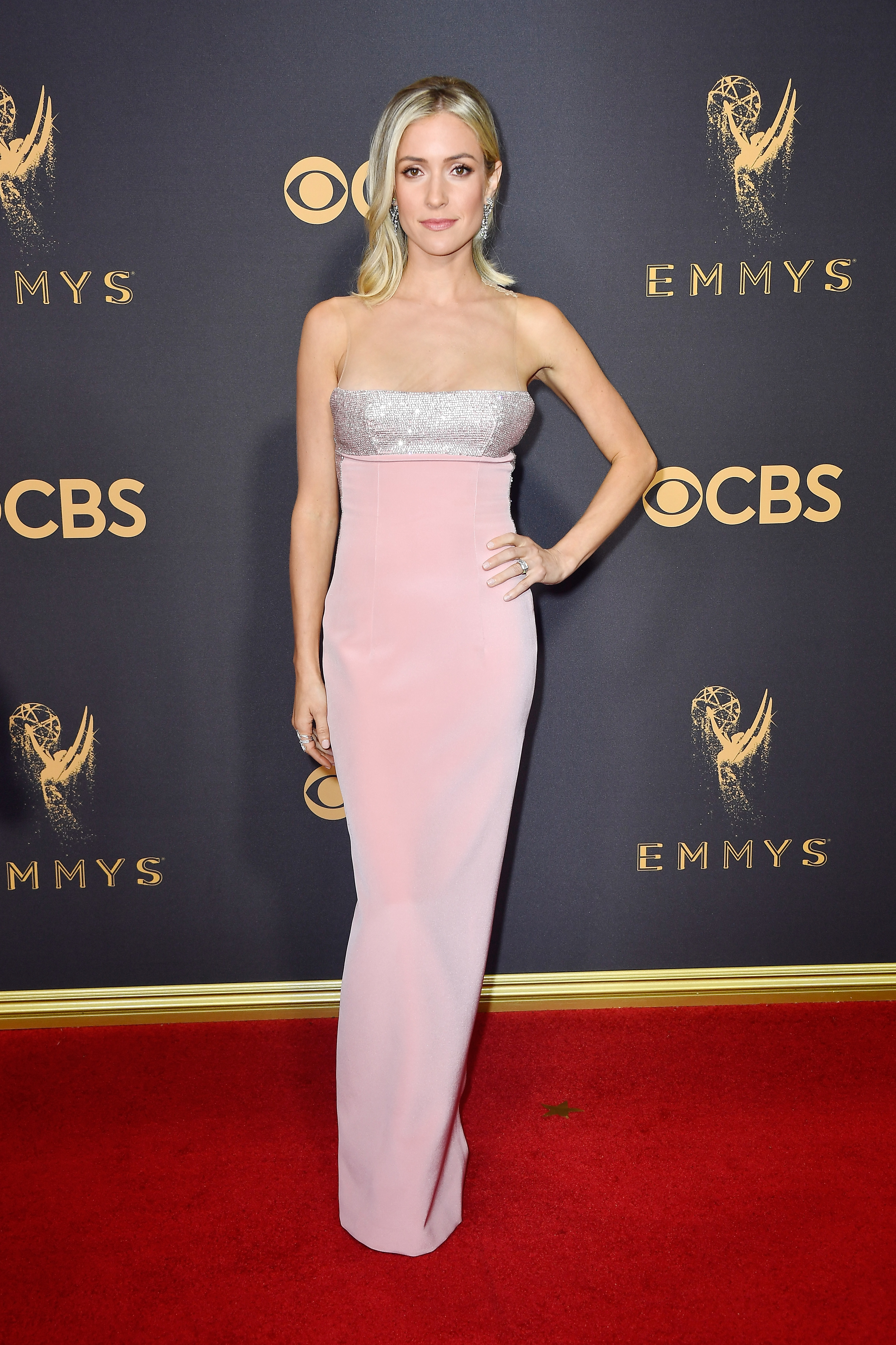 Kristin Cavallari attends the 69th Annual Primetime Emmy Awards at Microsoft Theater in Los Angeles on Sept. 17, 2017.