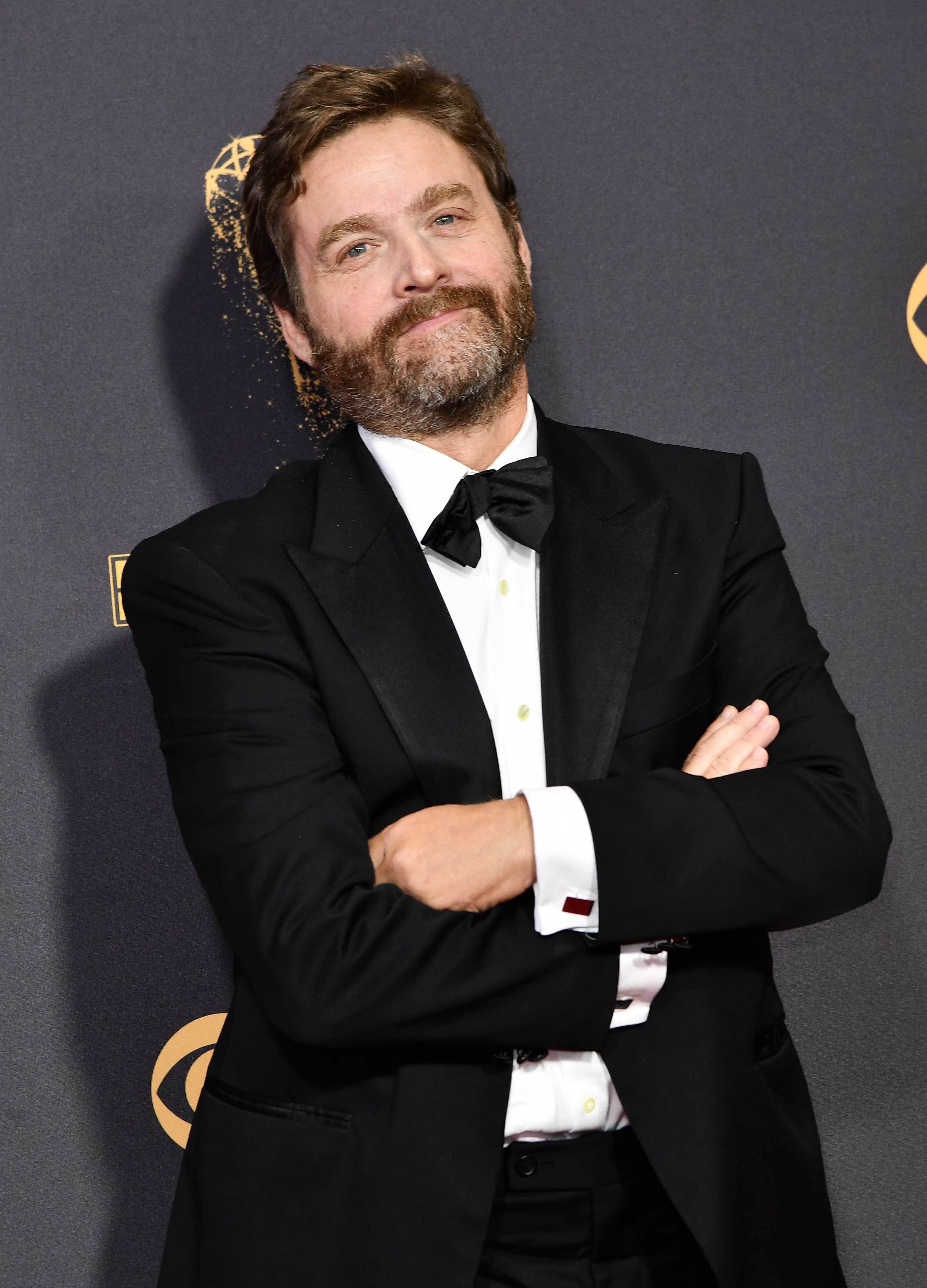Zach Galifianakis attends the 69th Annual Primetime Emmy Awards at Microsoft Theater in Los Angeles on Sept. 17, 2017.