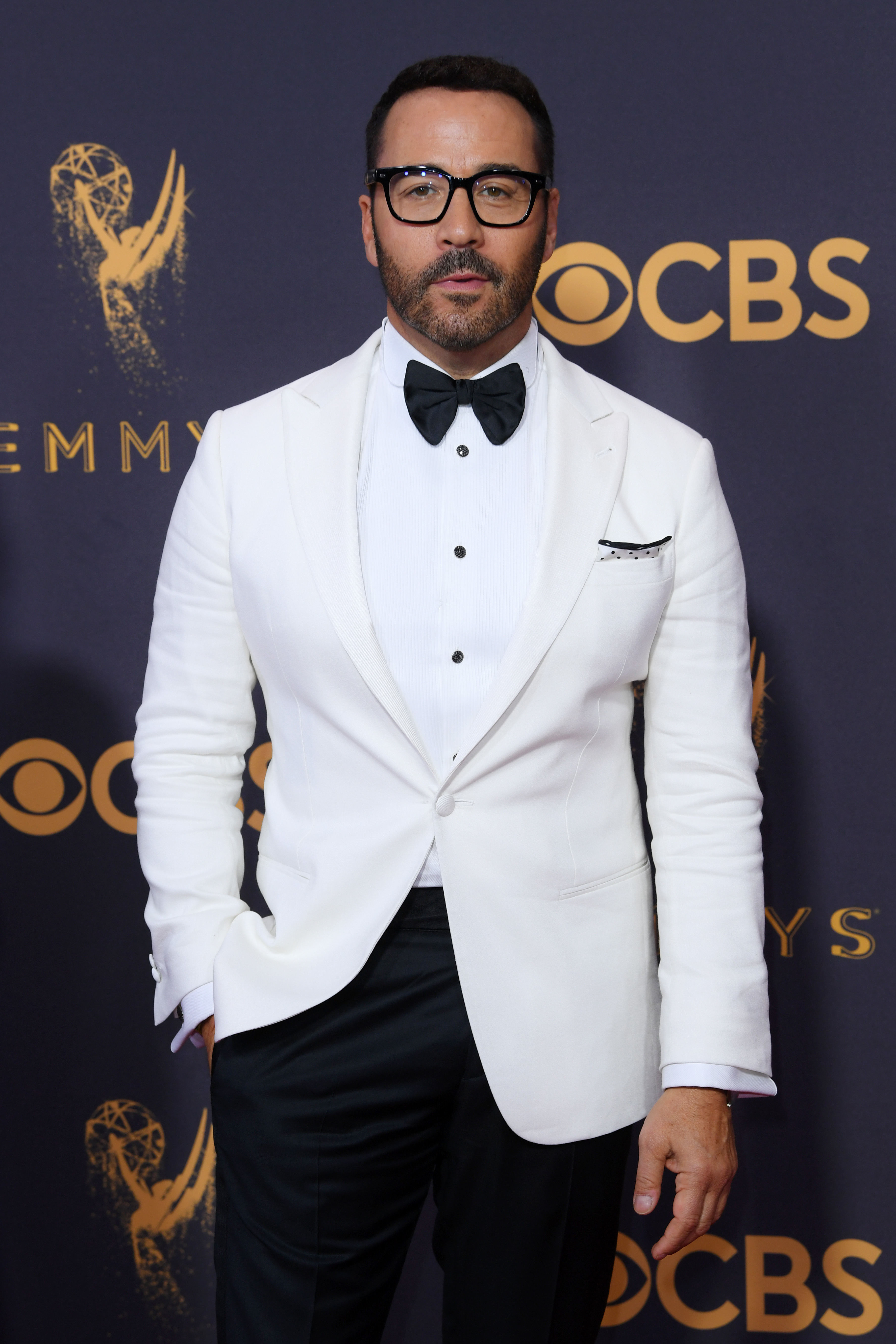 Jeremy Piven attends the 69th Annual Primetime Emmy Awards at the Microsoft Theater in Los Angeles on Sept. 17, 2017.