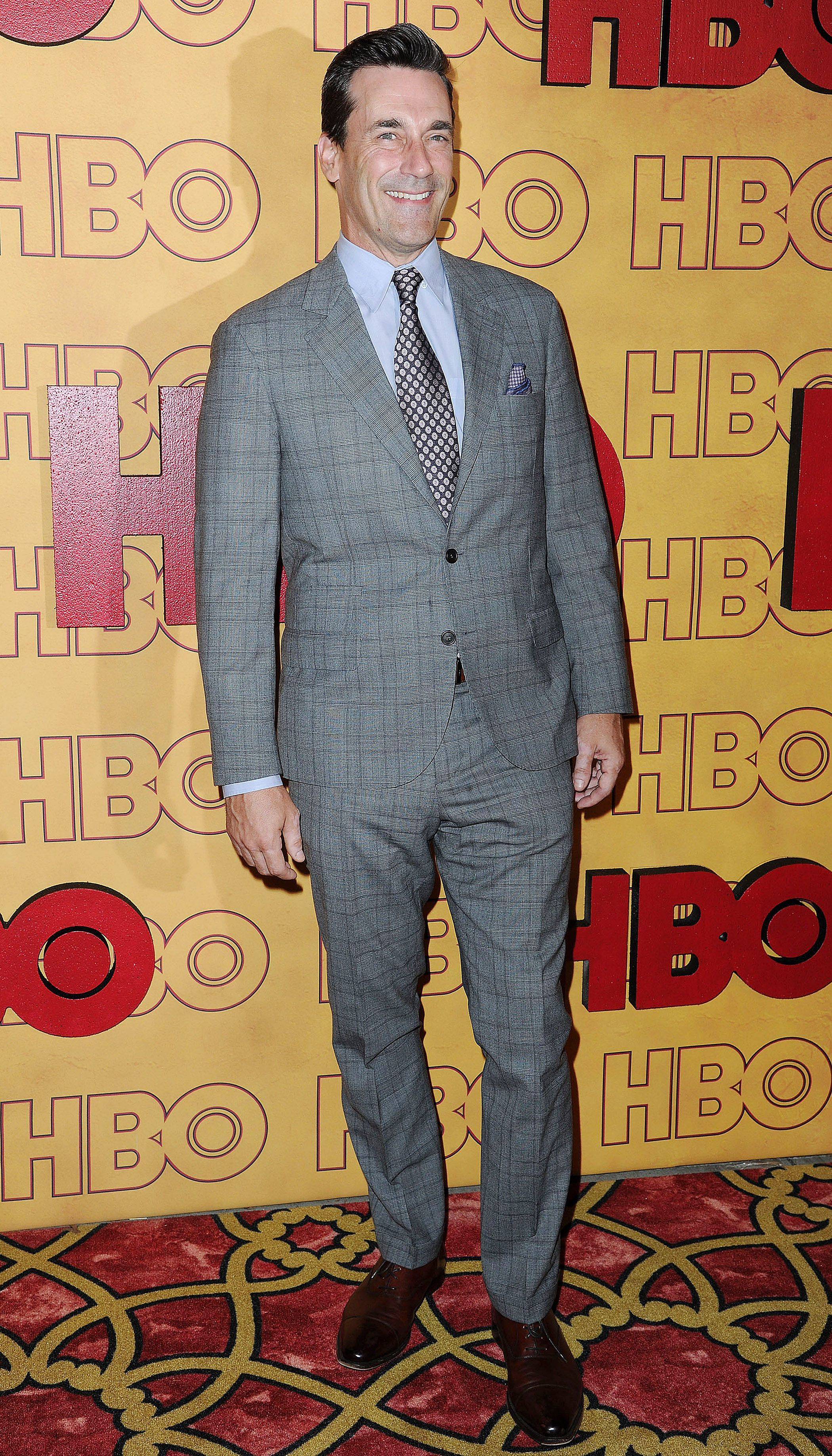 Jon Hamm attends the HBO afterparty in Los Angeles on Sept. 17, 2017.