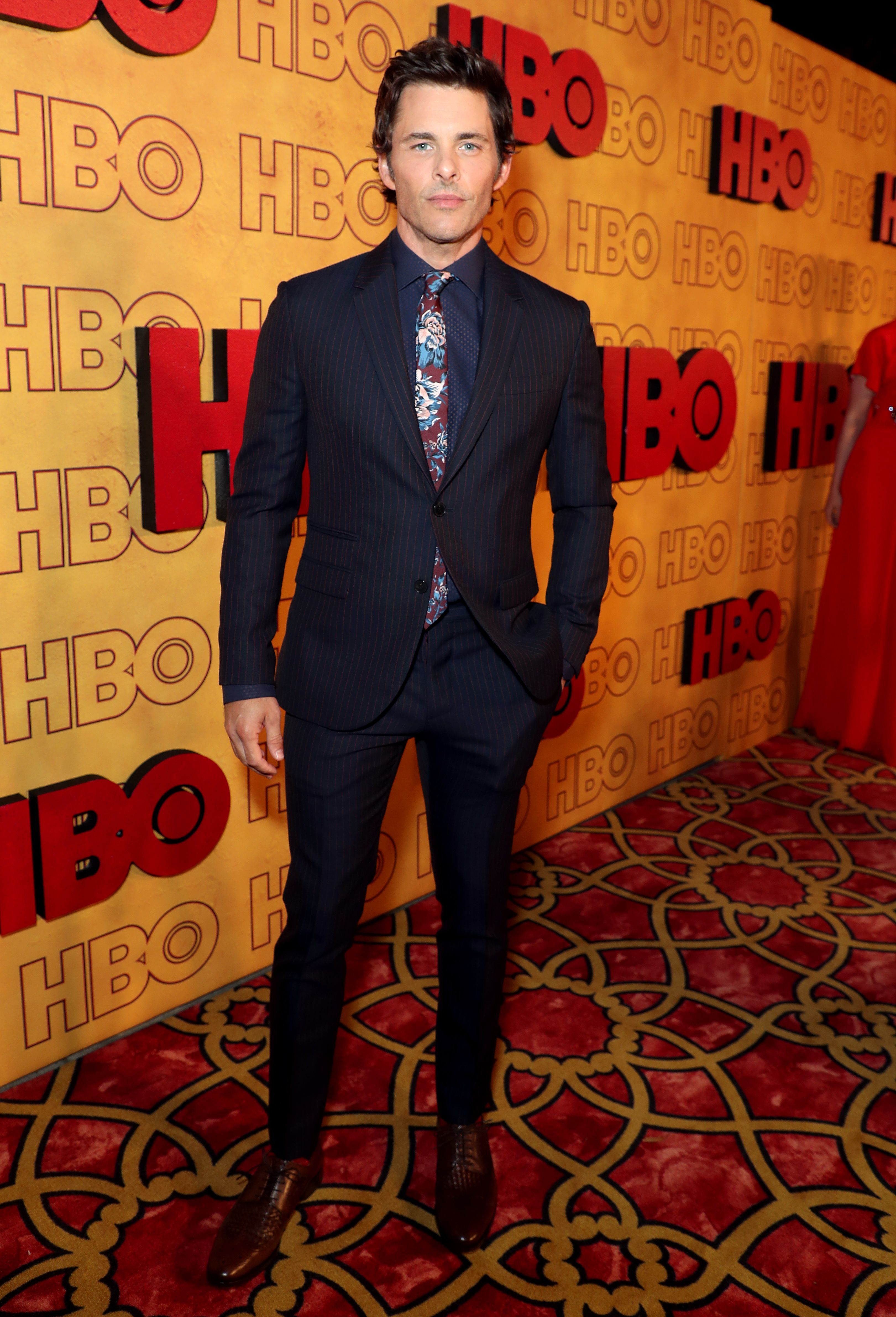 James Marsden attends the HBO afterparty in Los Angeles on Sept. 17, 2017.