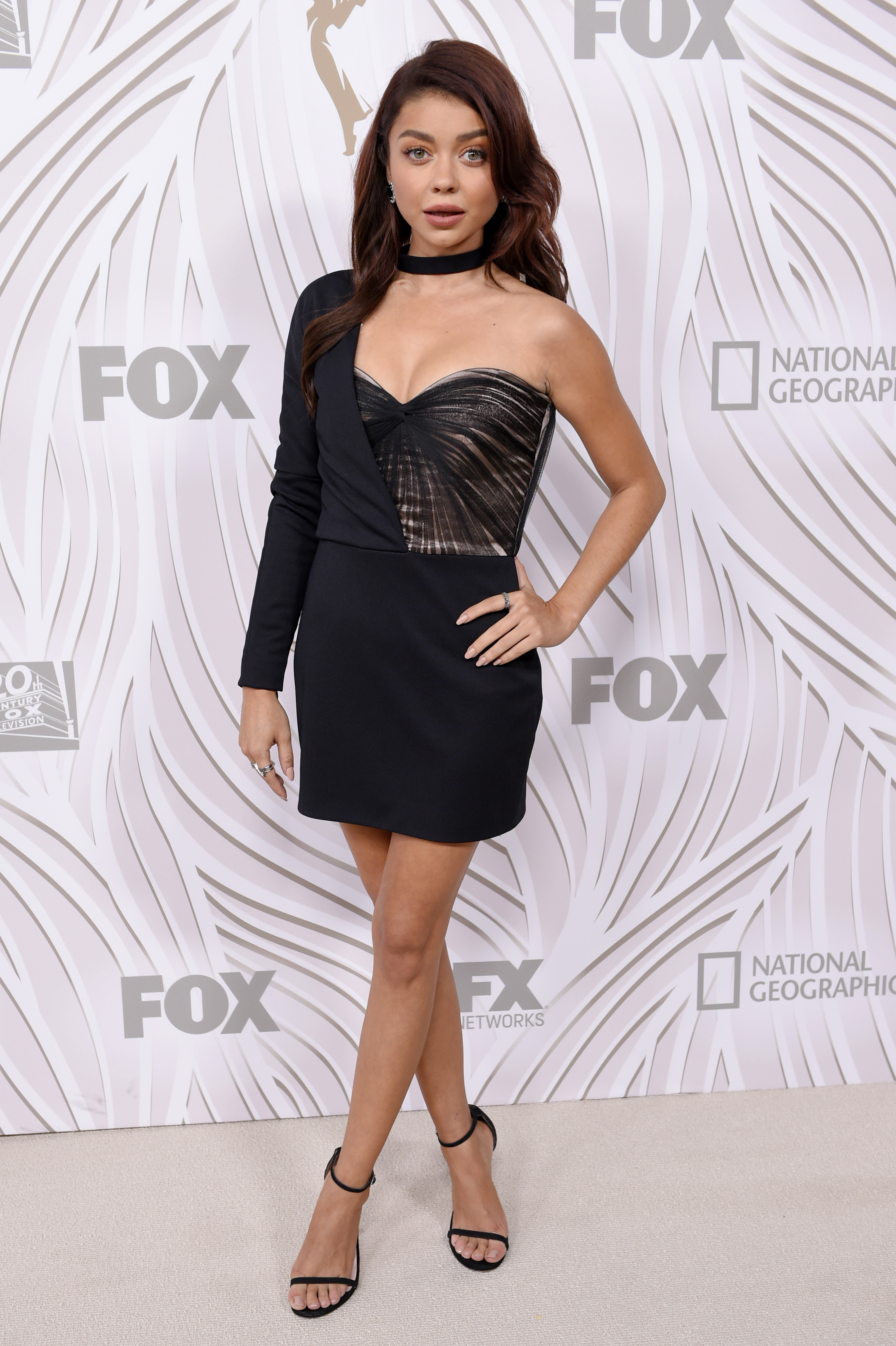 Sarah Hyland attends the FOX afterparty in Los Angeles on Sept. 17, 2017.