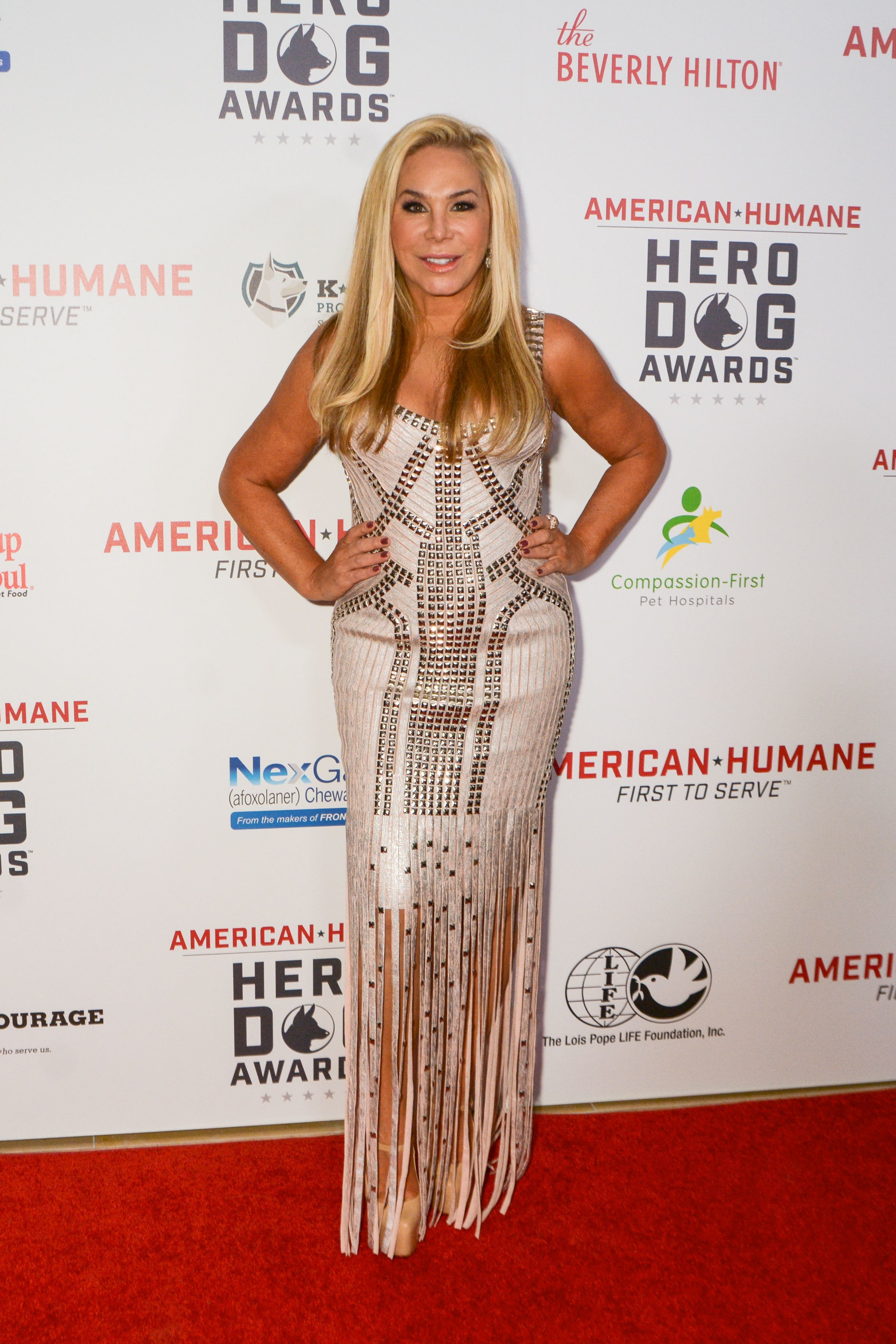 Adrienne Maloof attends the 7th Annual American Humane Hero Dogs Awards in Beverly Hills, Calif., on Sept. 16, 2017.