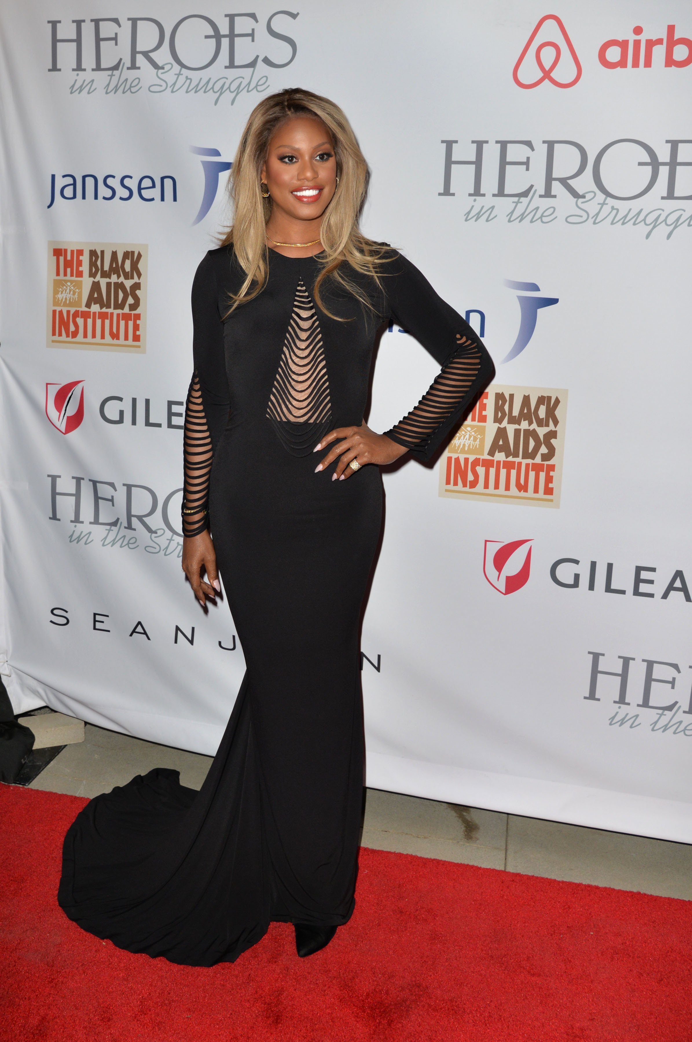 Laverne Cox attends the 16th Annual Heroes in the Struggle Awards in Los Angeles on Sept. 16, 2017.