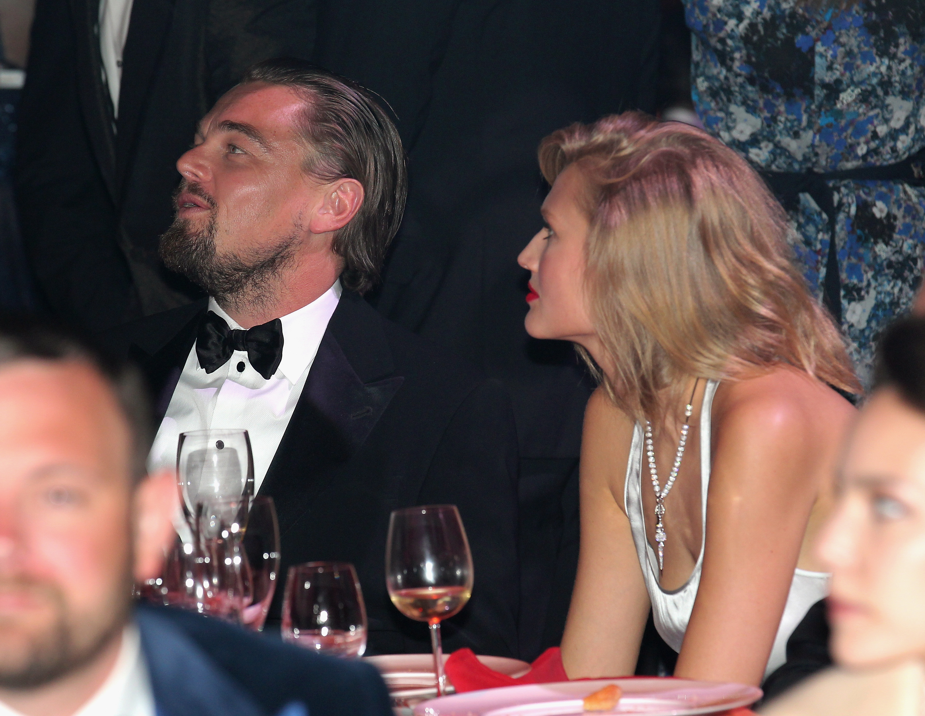 "Leo's at it again (dating a different supermodel every week, that is). Earlier this month, Leonard DiCaprio was reportedly dating model Lorena Rae. ""They seem like an item,"" a source told Page Six. But that's yesterday's news. As of September 12th, it looks like Leo and ex girlfriend/German model Toni Garrn may be giving things another shot. The exes were seen at New York City's Unitas Gala together enjoying a night out. ""They are not exclusive yet but they share a past and always had a love and respect for each other,"" a source disclosed to E! News. ""Leo has never stopped loving Toni. It was just not the right time for them."""