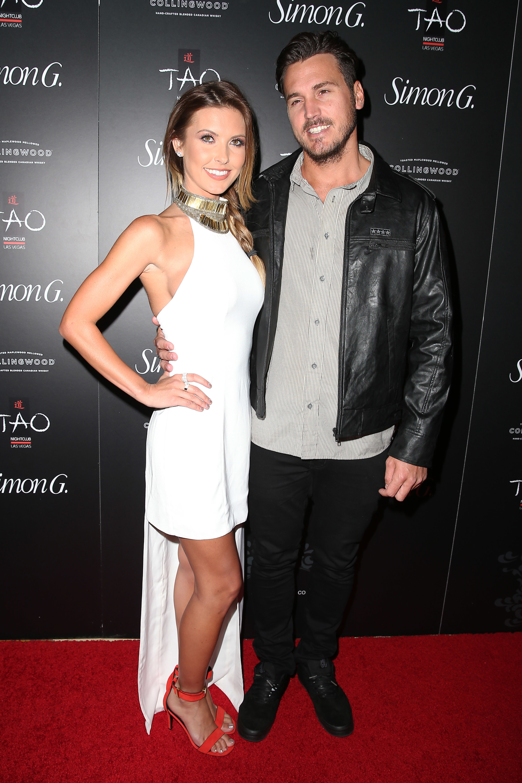 Audrina Patridge and Corey Bohan attend the Annual Simon G Soiree at TAO inside The Venetian Las Vegas  on June 1, 2013.
