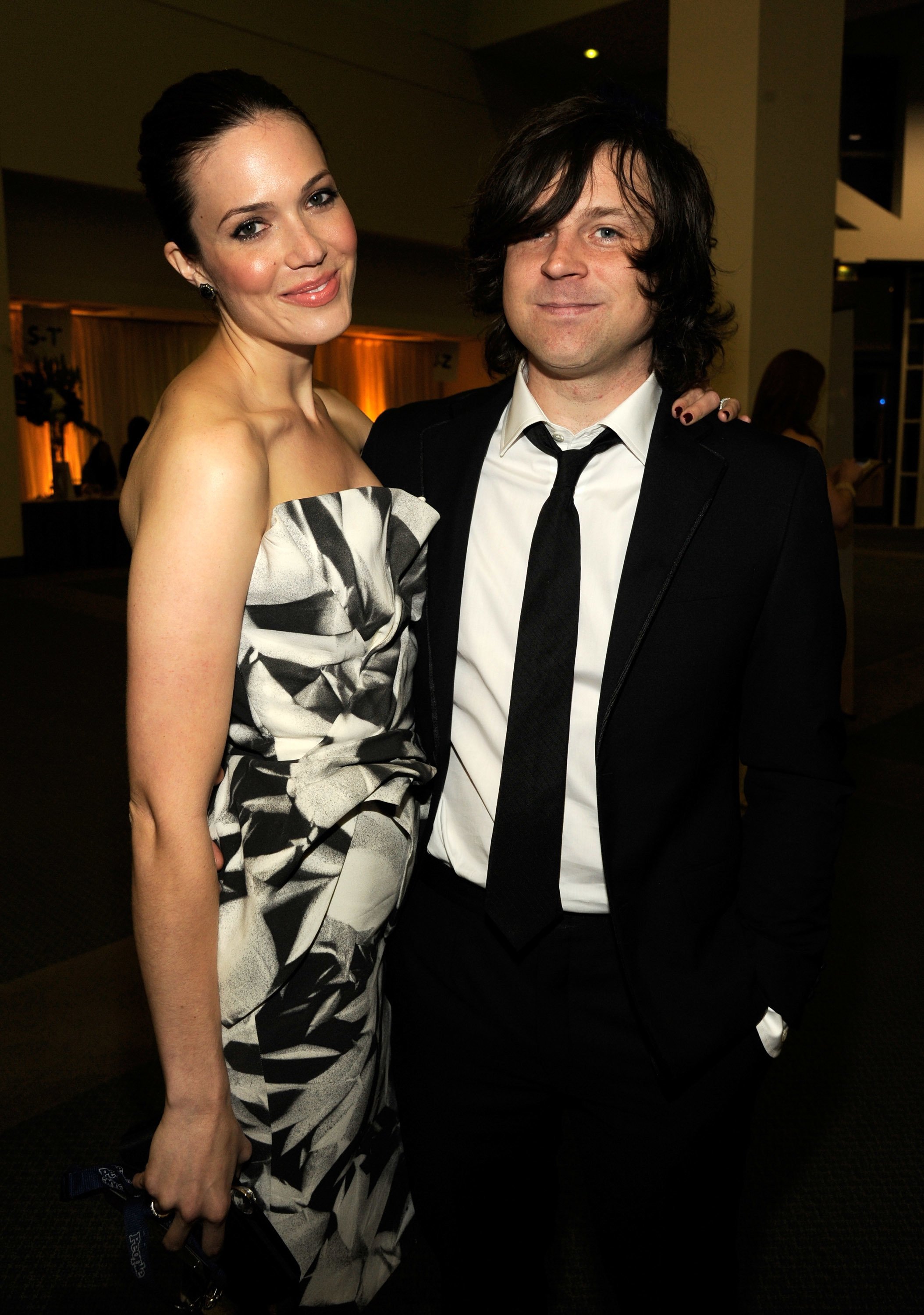 Mandy Moore and Ryan Adams attend The 2012 MusiCares Person Of The Year Gala Honoring Paul McCartney at Los Angeles Convention Center on February 10, 2012 in Los Angeles, California.