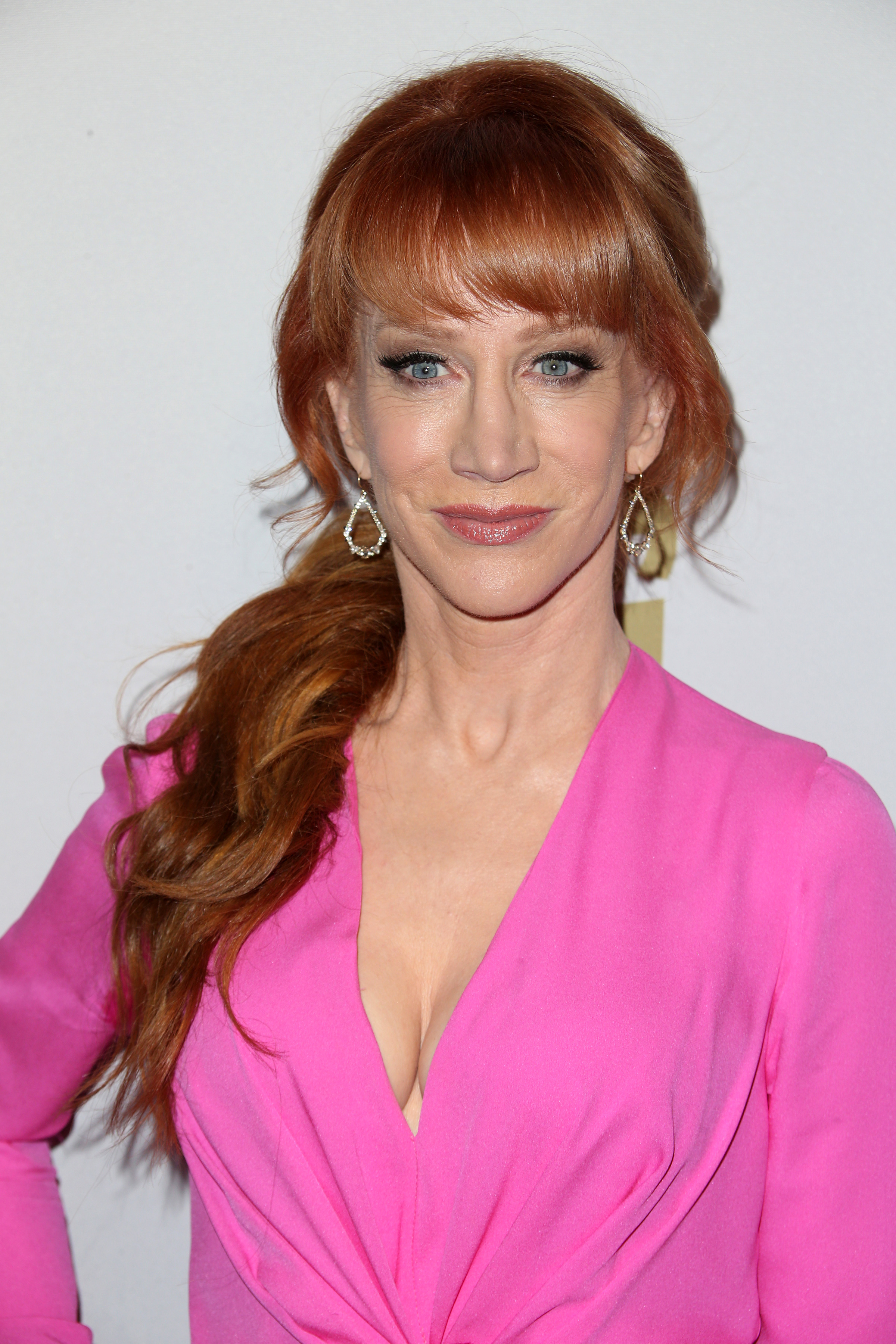 Kathy Griffin attends Clive Davis' pre Grammy Gala in Beverly Hills on Feb. 11, 2017.