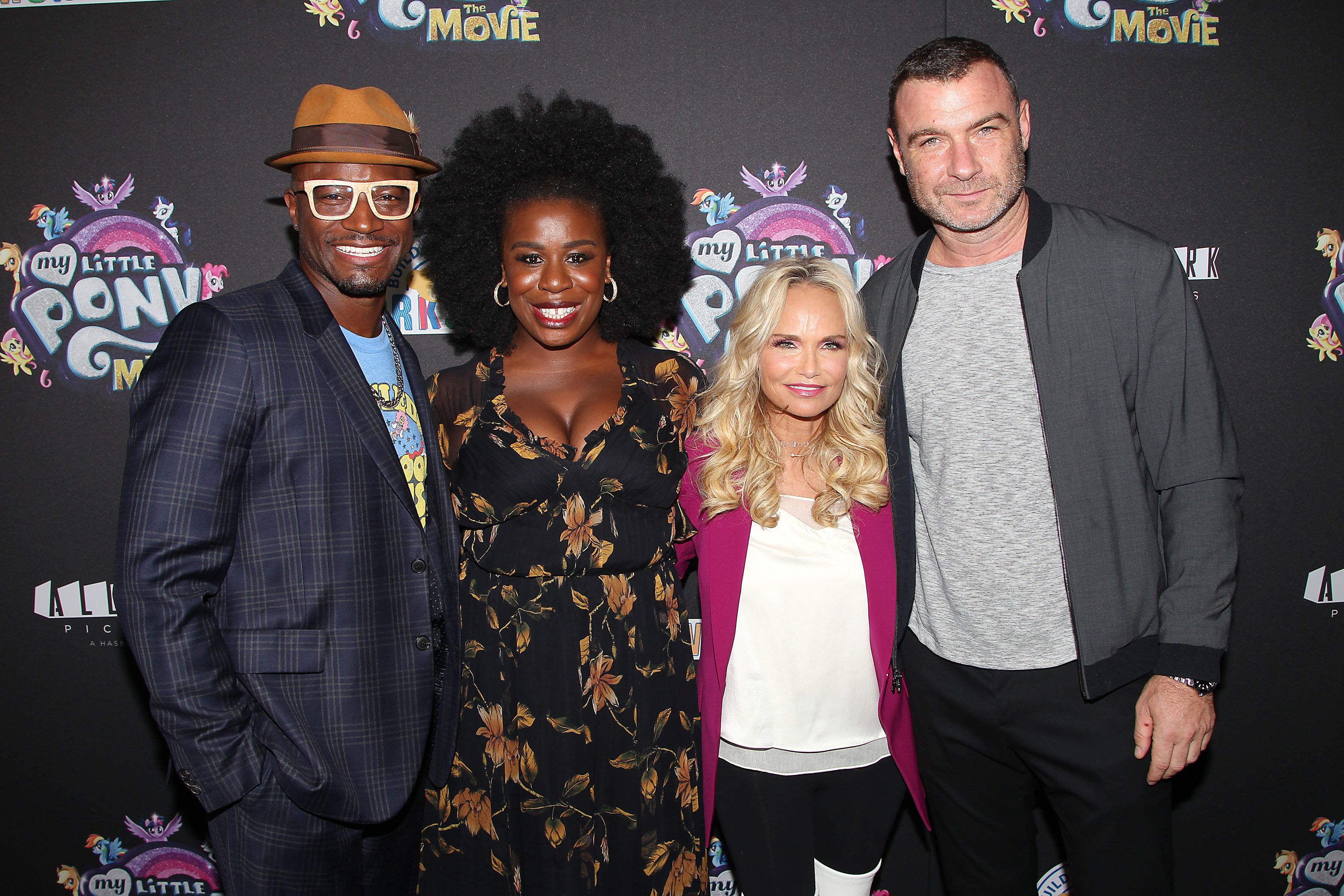 "Taye Diggs, Uzo Aduba, Kristin Chenoweth and Liev Schreiber attend a special screening of ""My Little Pony"" in New York City on Sept. 24, 2017."