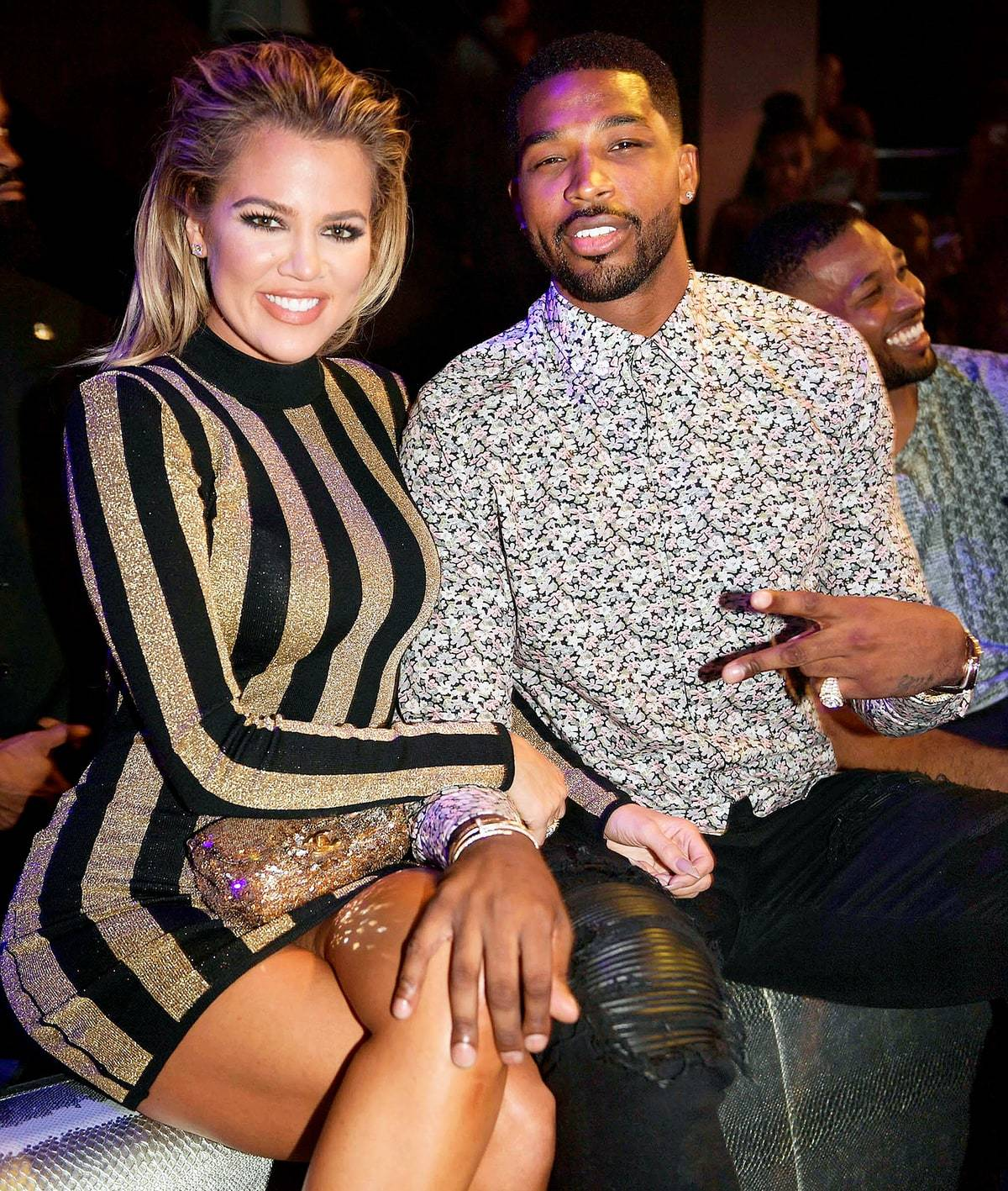Tristan Thompson shares sweet reaction Khloe Kardashian's pregnancy post