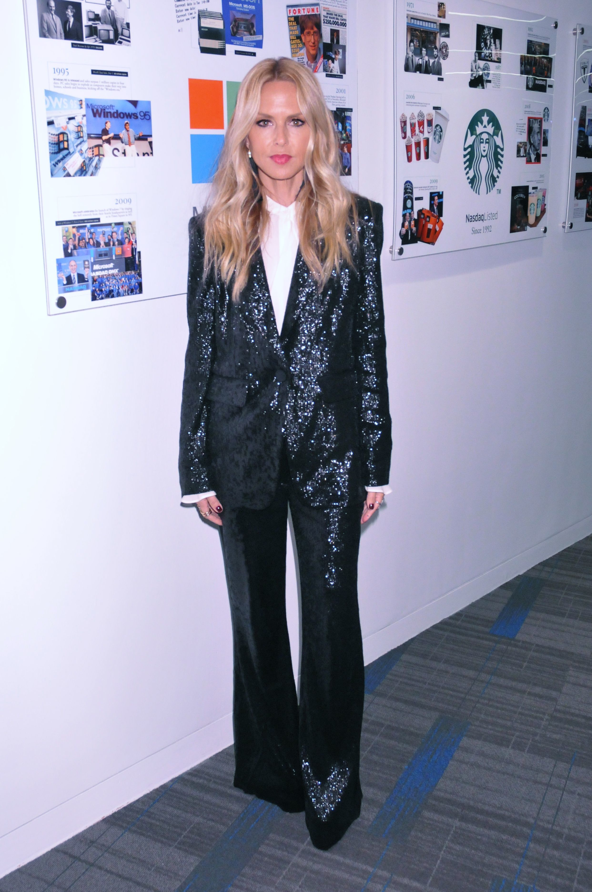 Rachel Zoe appears at the Transforming Digital with Revolutionary Style seminar in New York City on Sept. 26, 2017.