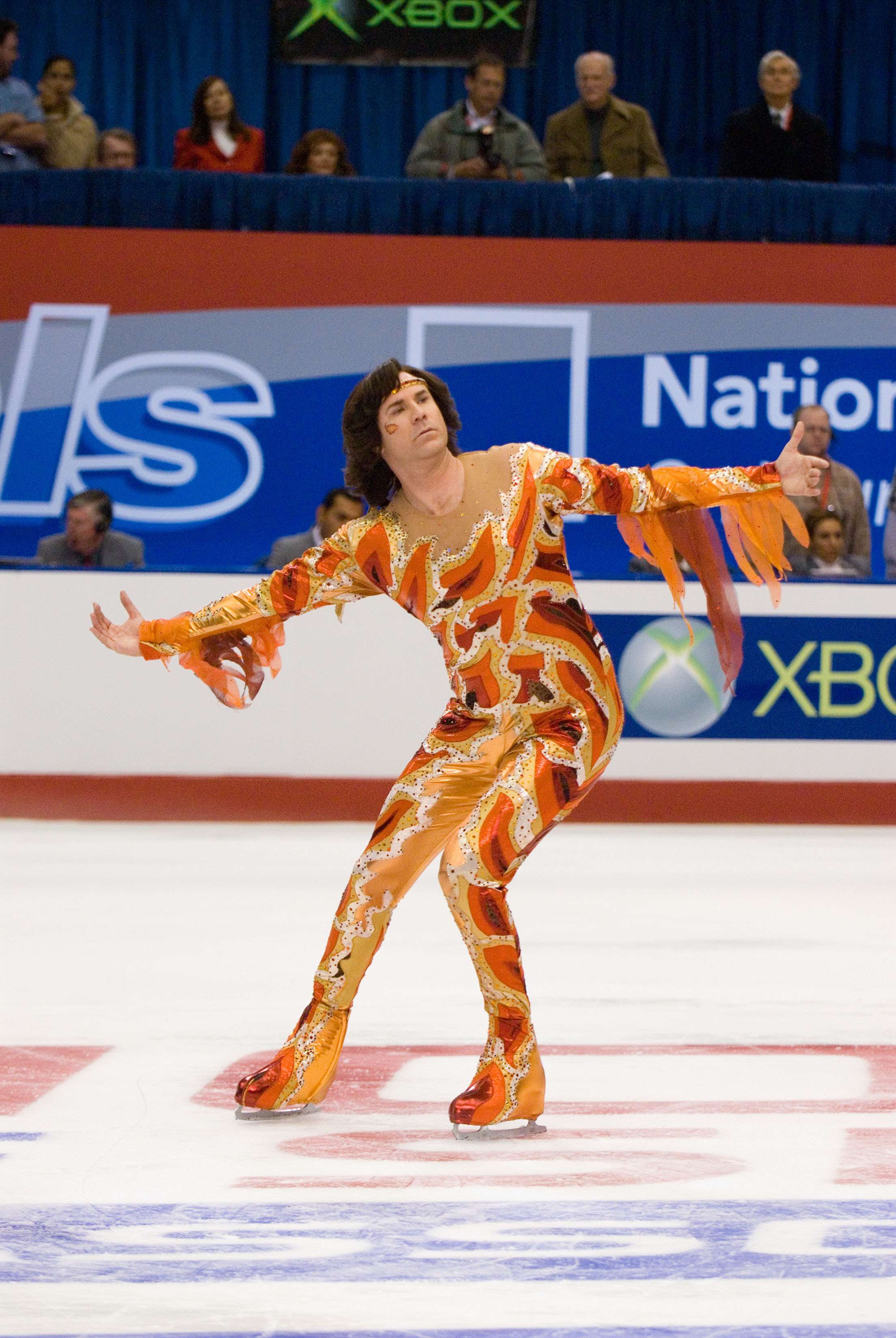 "Will Ferrell stars in the comedy ""Blades Of Glory"" in 2007."