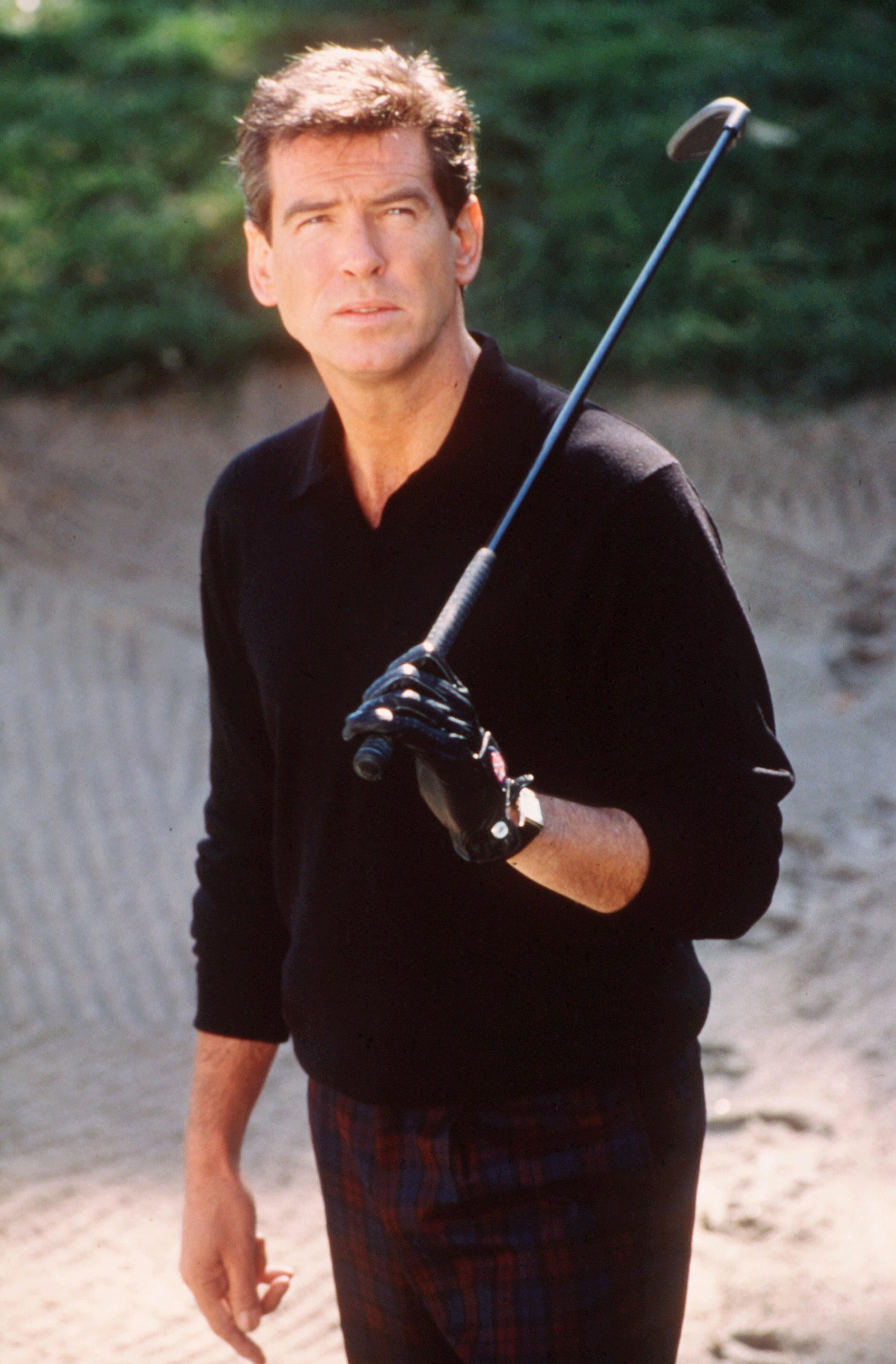 "Pierce Brosnan stars in ""The Thomas Crown Affair"" in 1999."