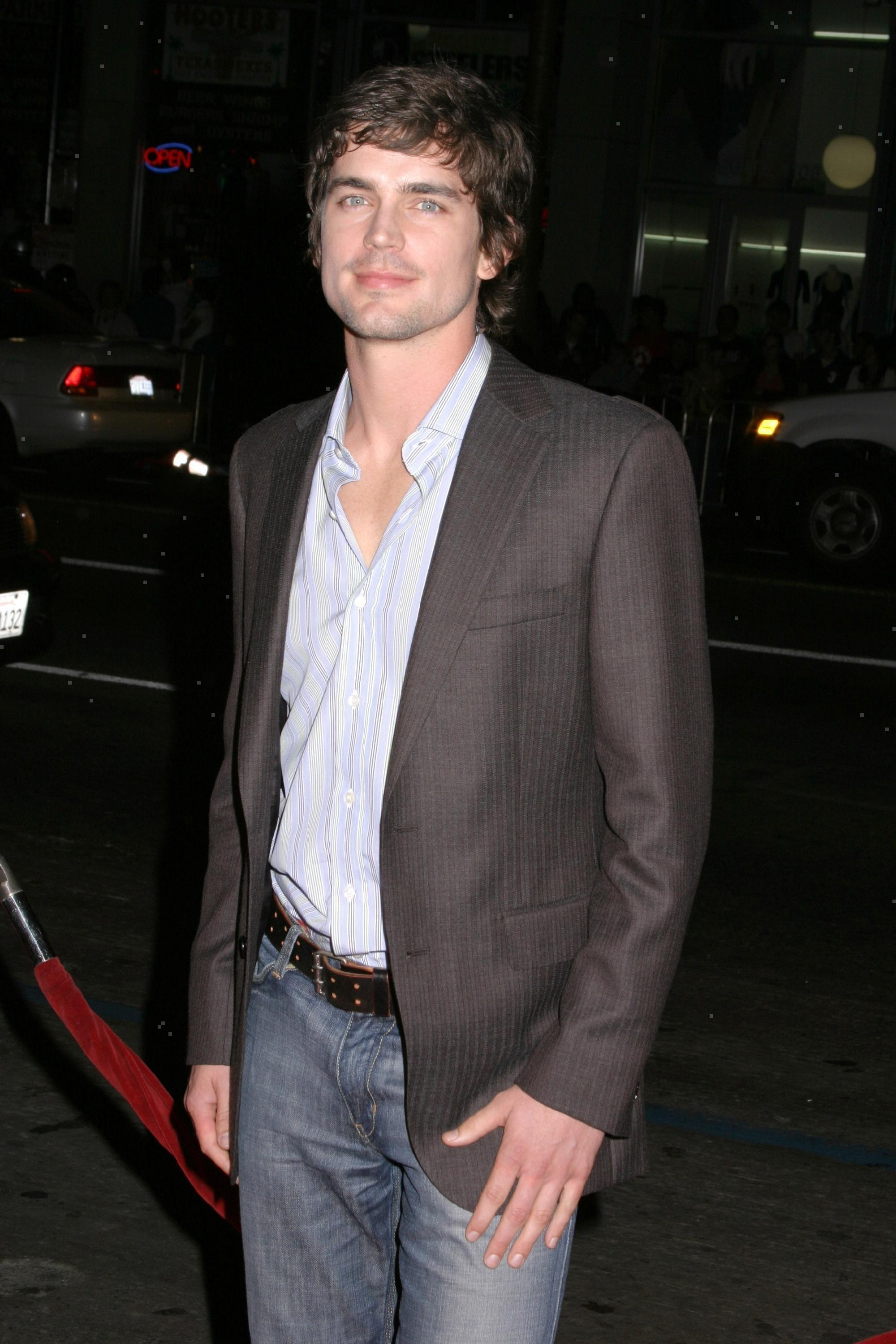 """Matt Bomer attends the premiere of """"The Texas Chainsaw Massacre: The Beginning"""" at Grauman's Chinese Theatre in Hollywood on Oct. 5, 2006."""