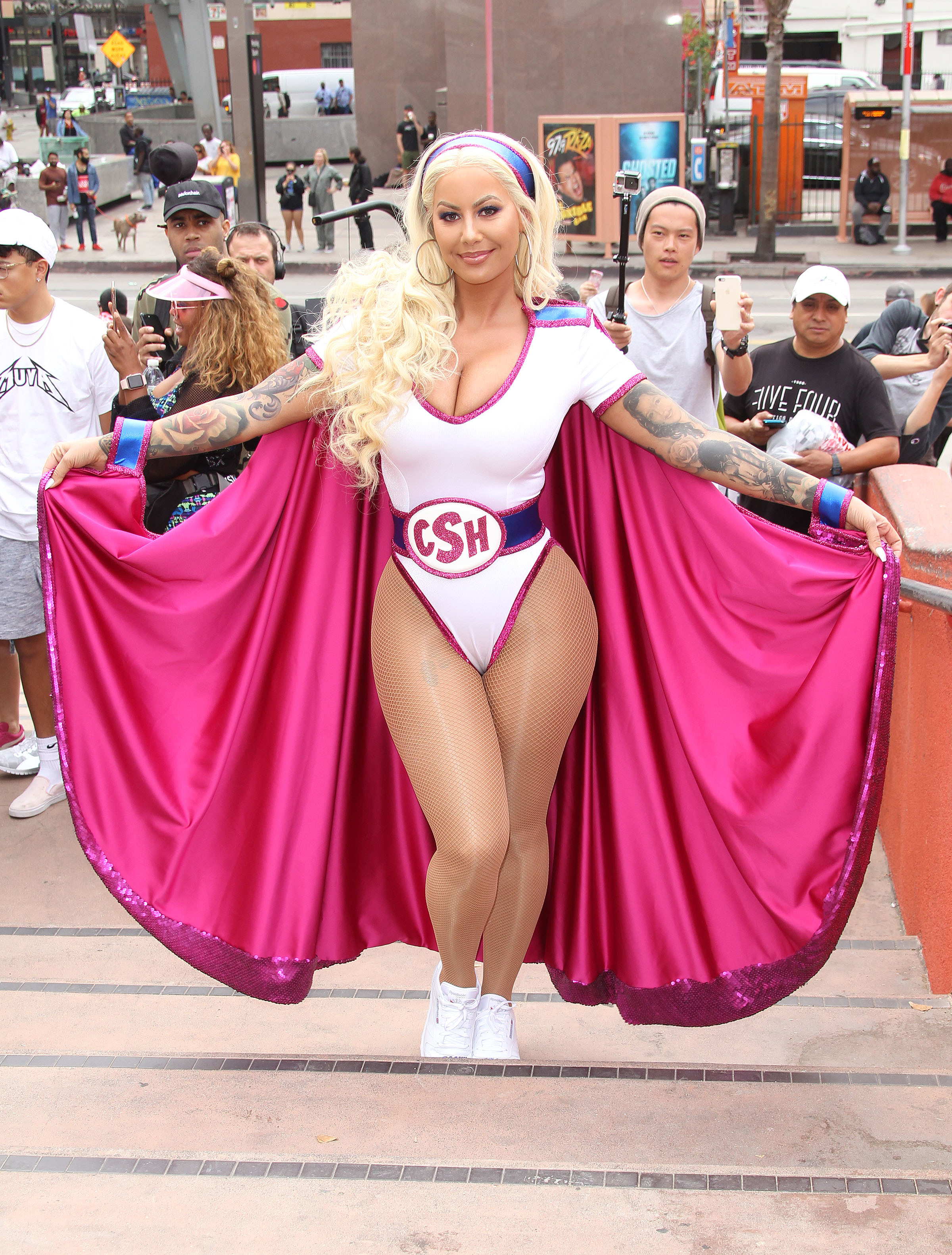 Amber Rose hosts the Third Annual SlutWalk in Los Angeles on Oct. 1, 2017.