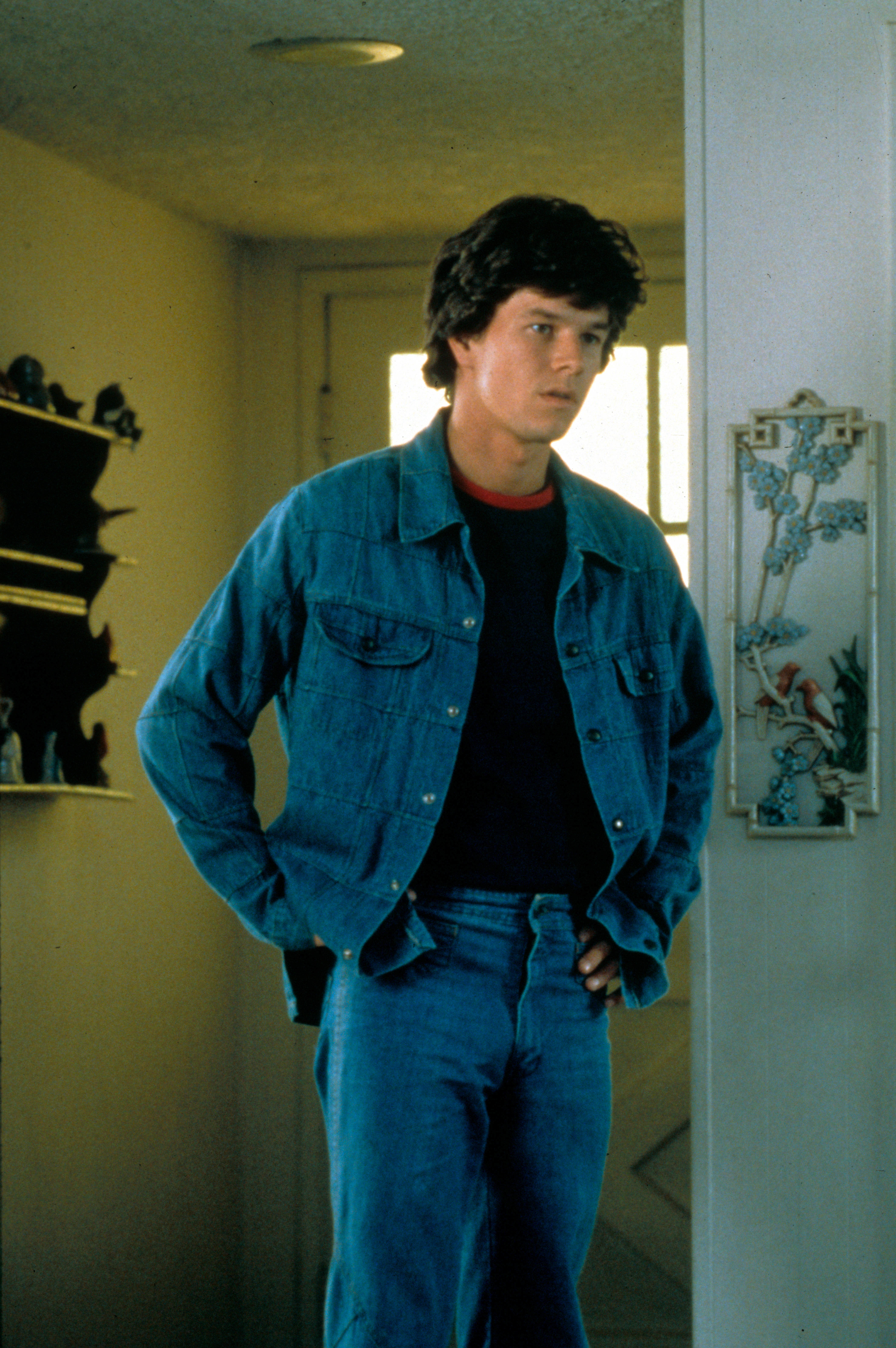 "Mark Wahlberg stars in the movie ""Boogie Nights"" in 1997."