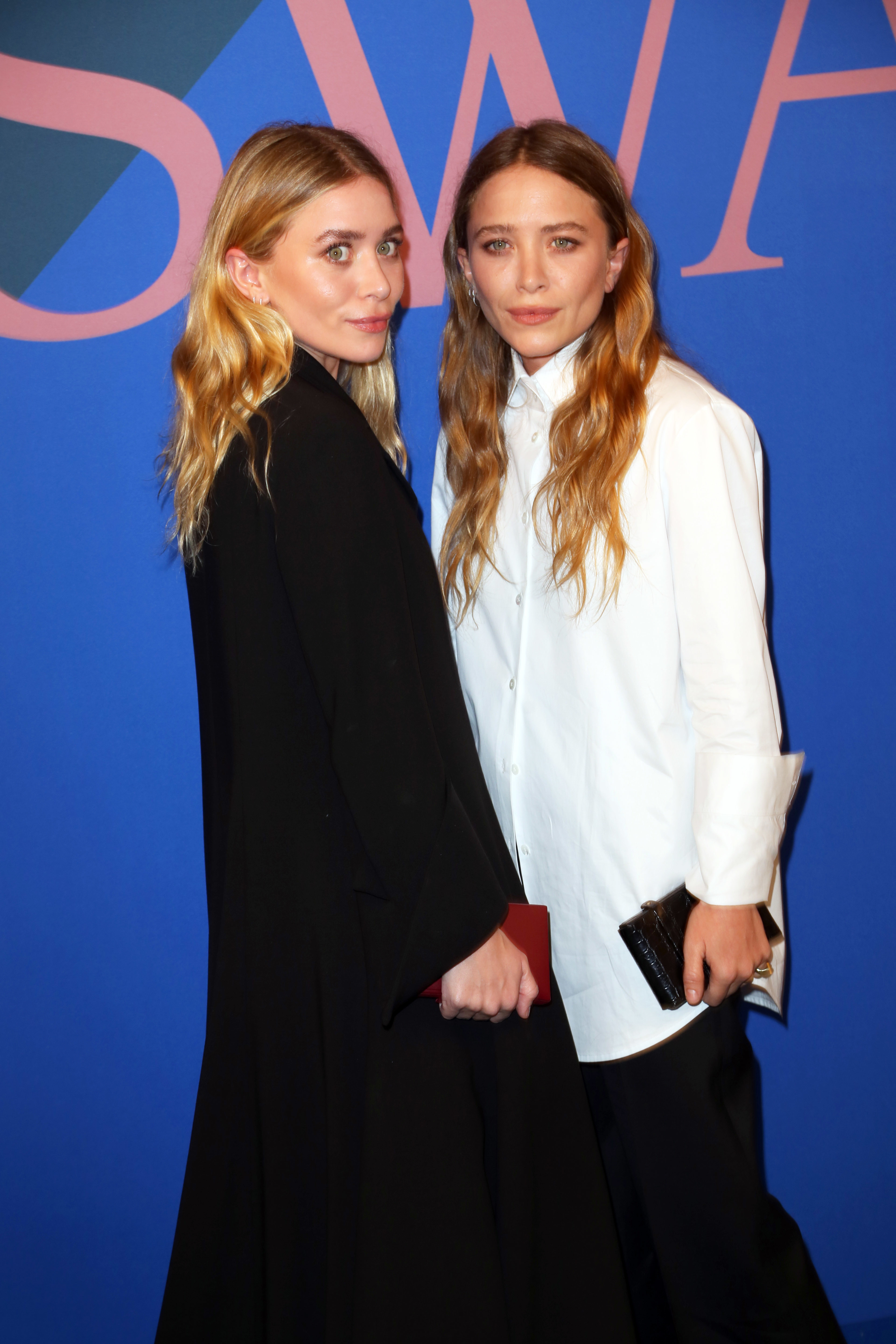 Ashley Olsen and Mary Kate Olsen attend the 2016 CFDA / Vogue Fashion Fund Awards  in New York in June 5, 2017.