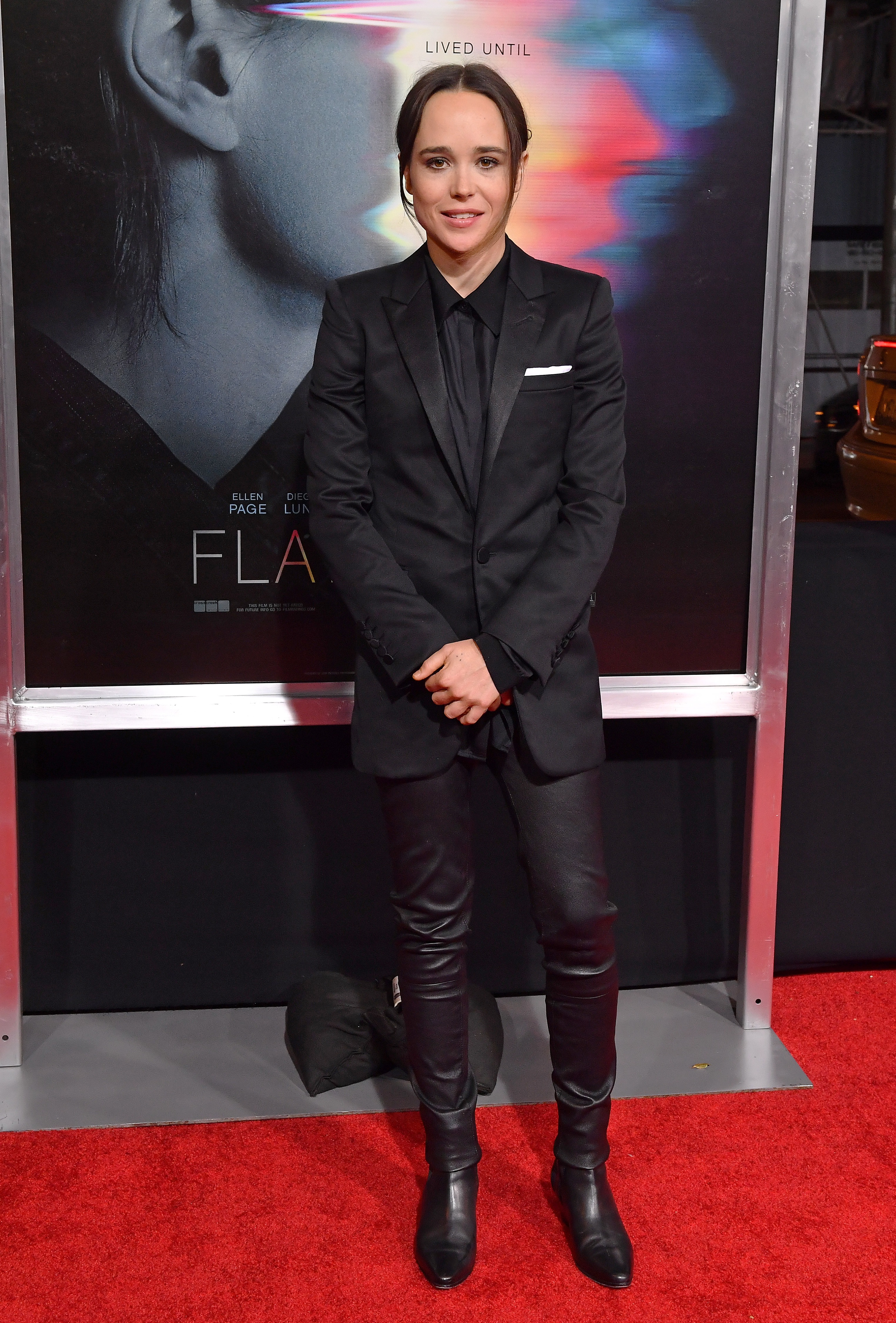 """Ellen Page attends the world premiere of """"Flatliners"""" on Sept. 27, 2017."""