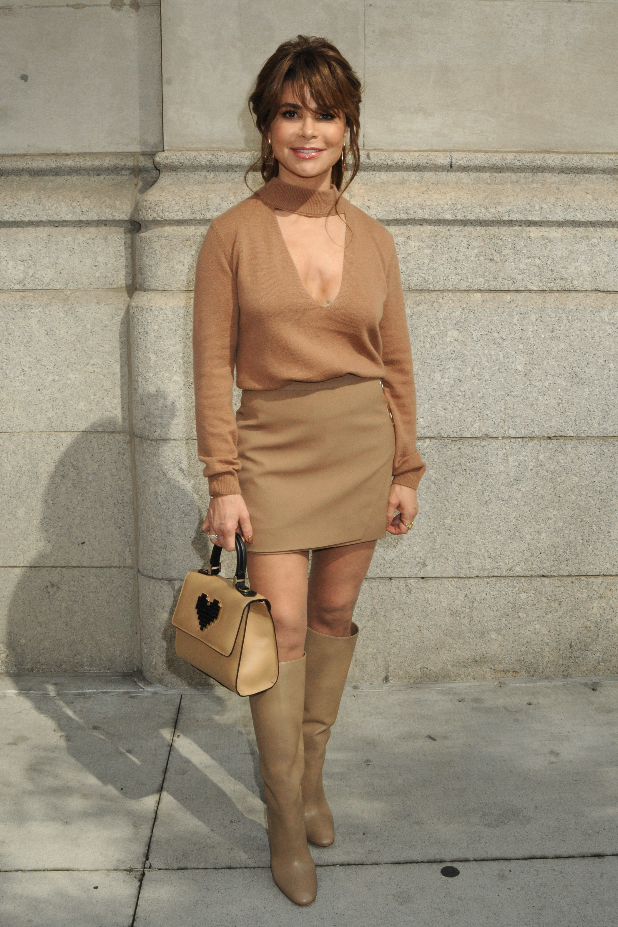 Paula Abdul attends the GREY Jason Wu Spring/Summer 2018 Presentation during New York Fashion Week in New York City on Sept. 11, 2017.