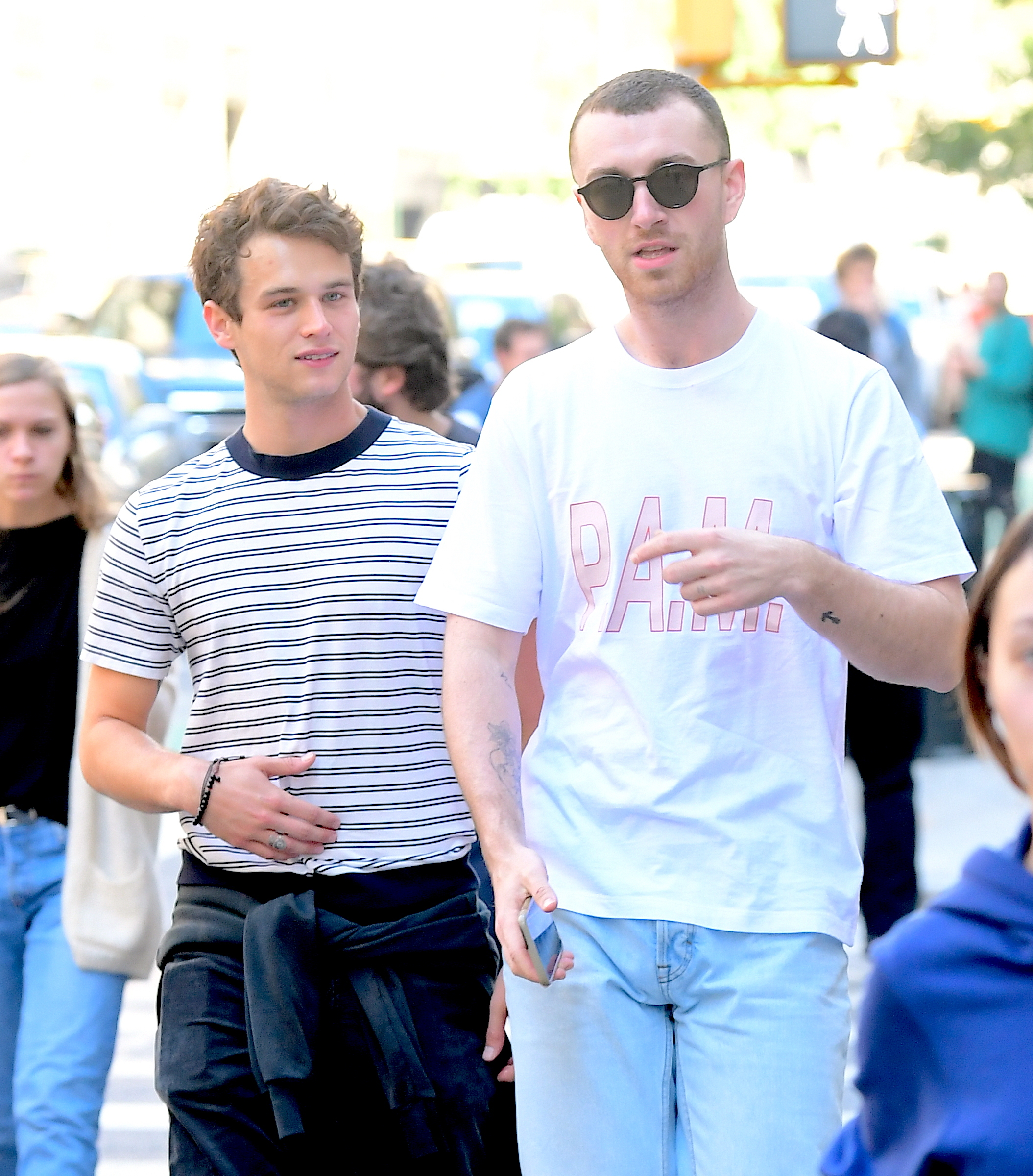 Sam Smith and Brandon Flynn