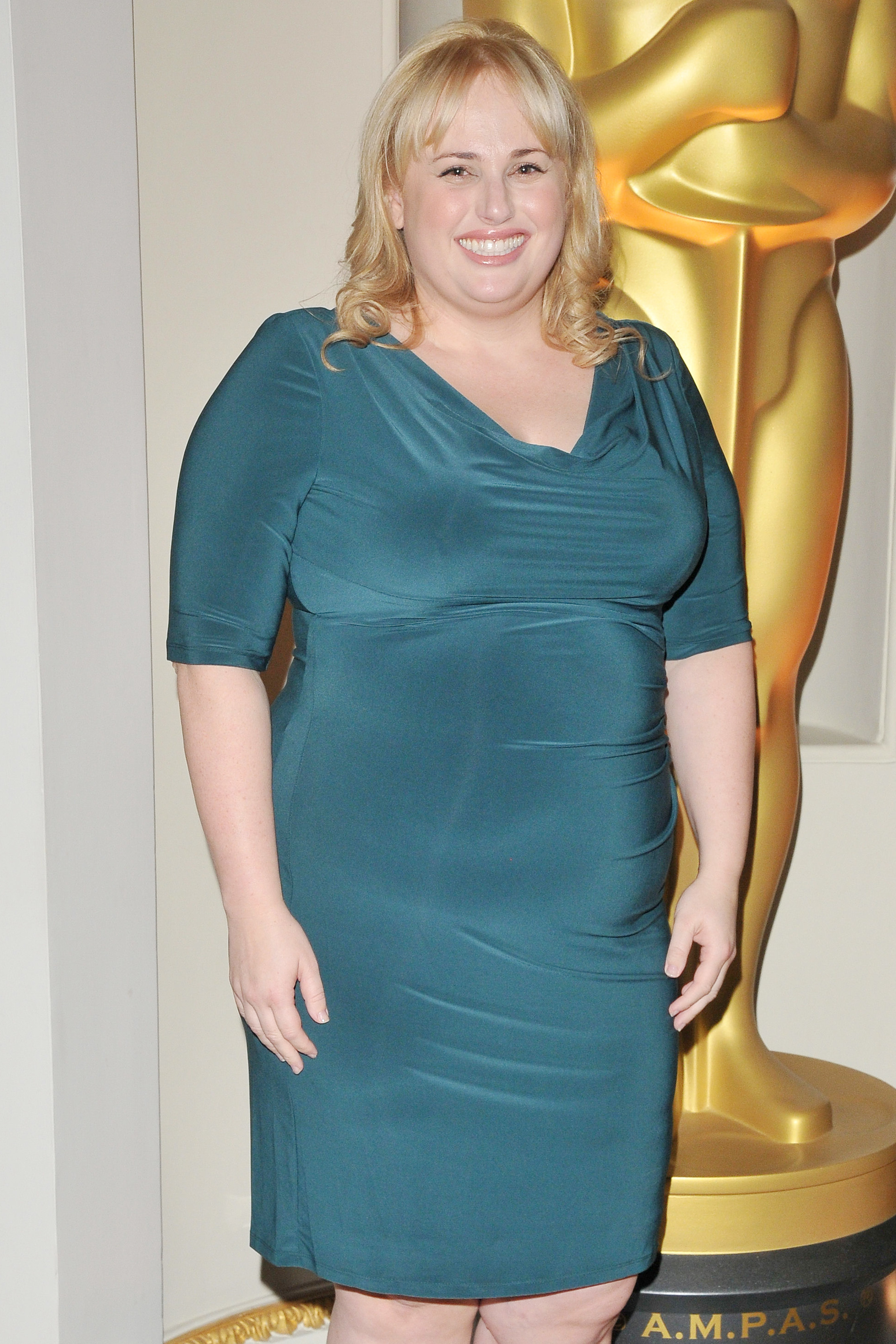 Rebel Wilson attend The Academy of Motion Pictures Arts & Sciences new members party in London on Oct. 5, 2017.