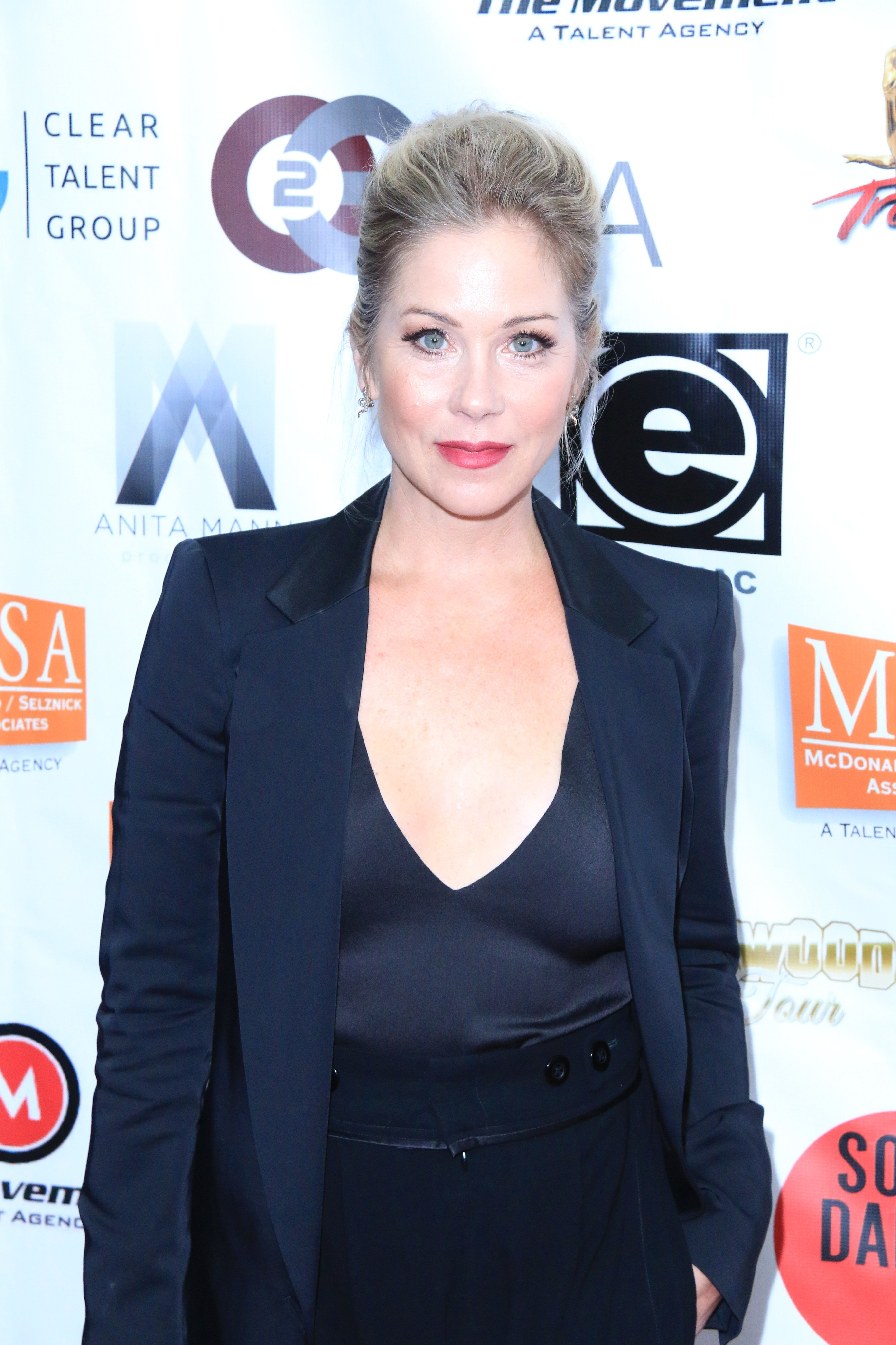 Christina Applegate attends the 2016 World Choreography Awards in Los Angeles on Oct. 24, 2016.