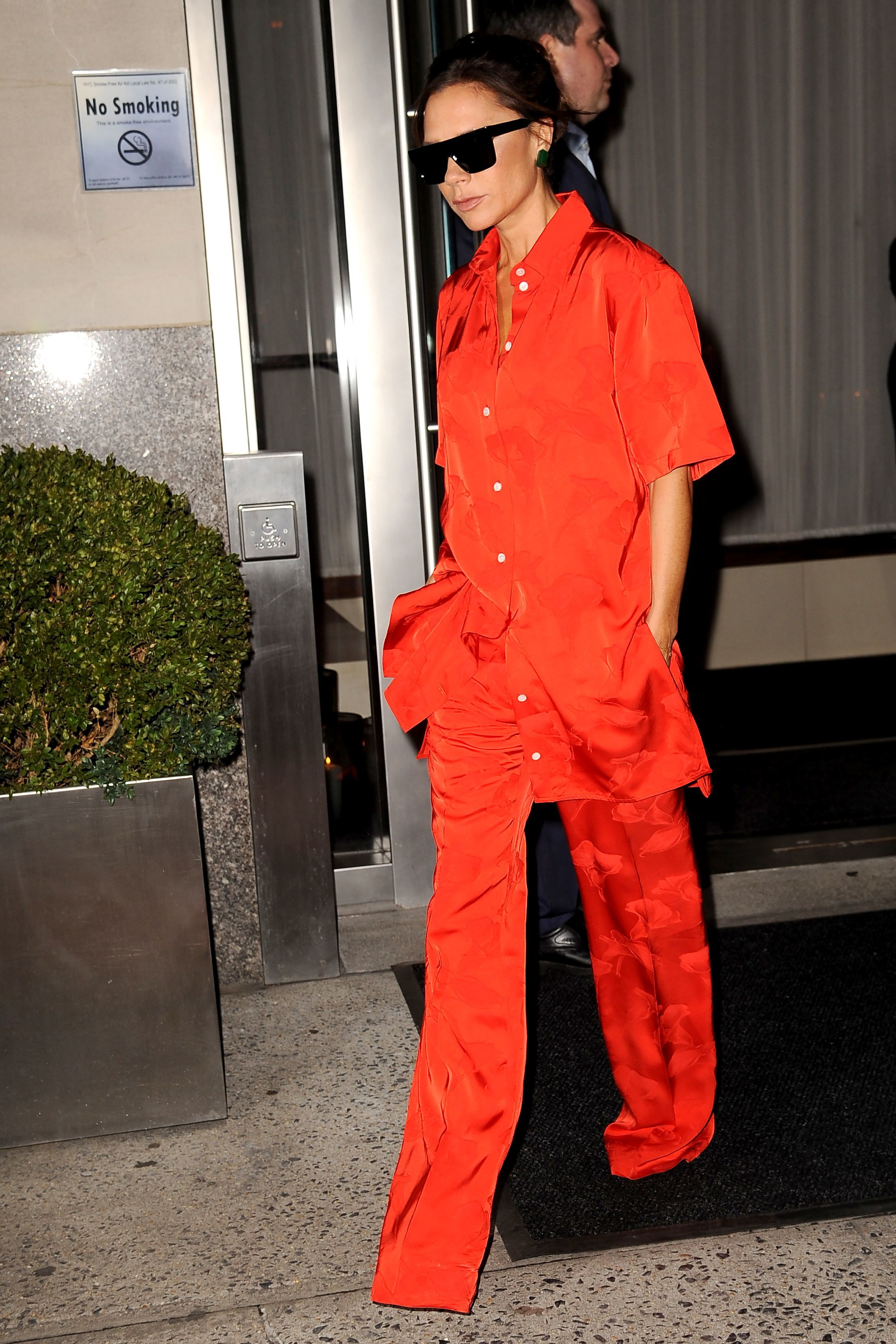 Victoria Beckham steps out in New York City on Oct. 12, 2017.