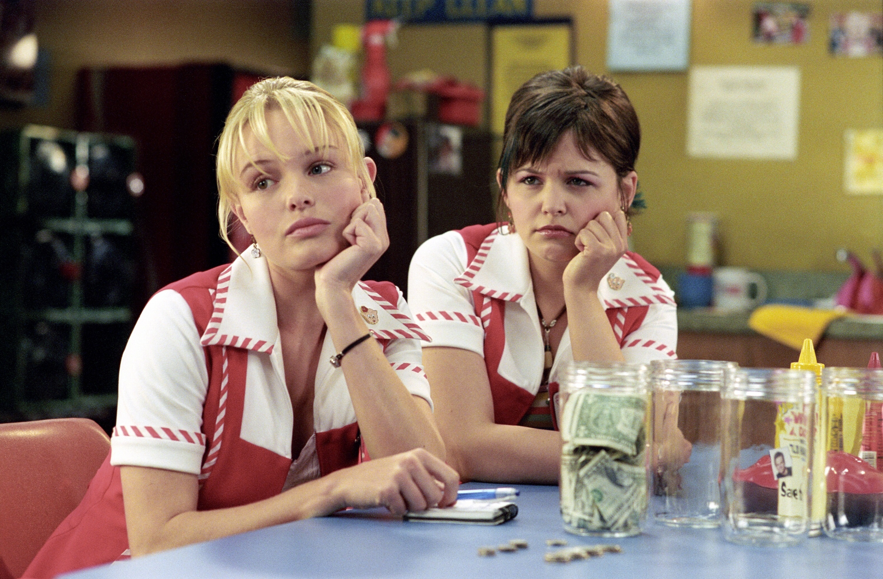 "Kate Bosworth and Ginnifer Goodwin in ""Win a Date With Tad Hamilton"" in 2004."