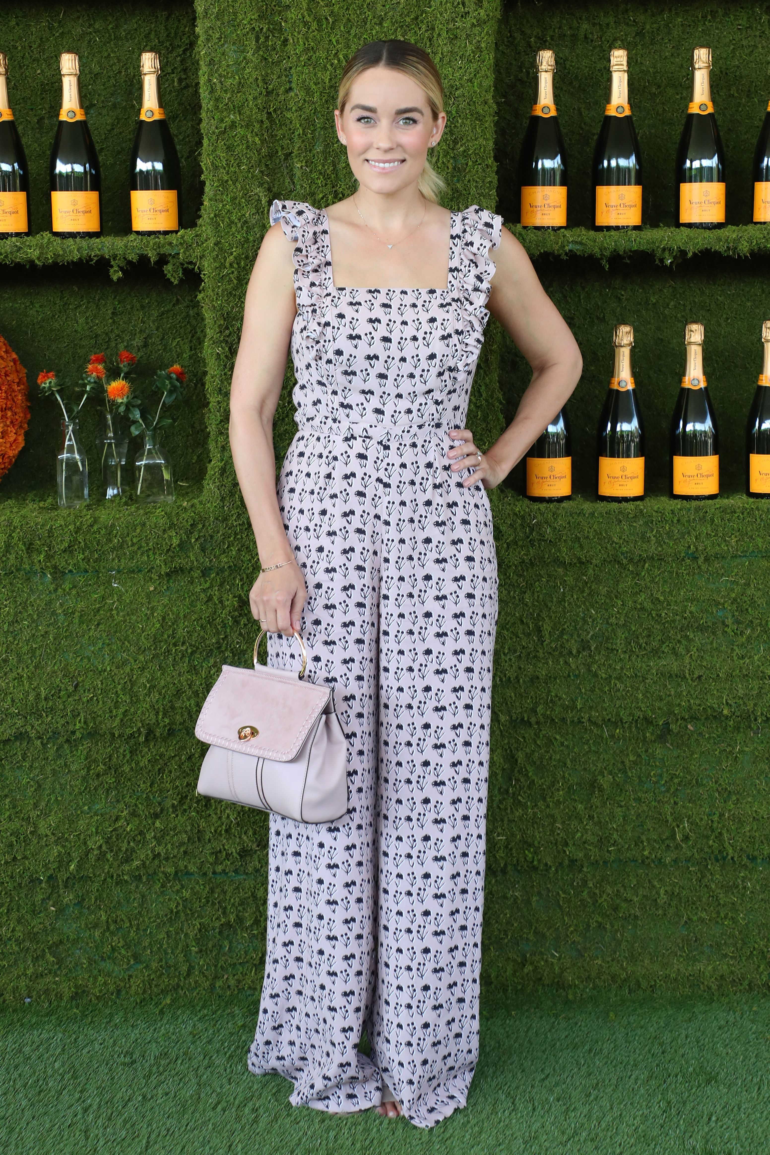 Lauren Conrad attends the Veuve Cliquot Polo Classic in Los Angeles on Oct. 14, 2017.