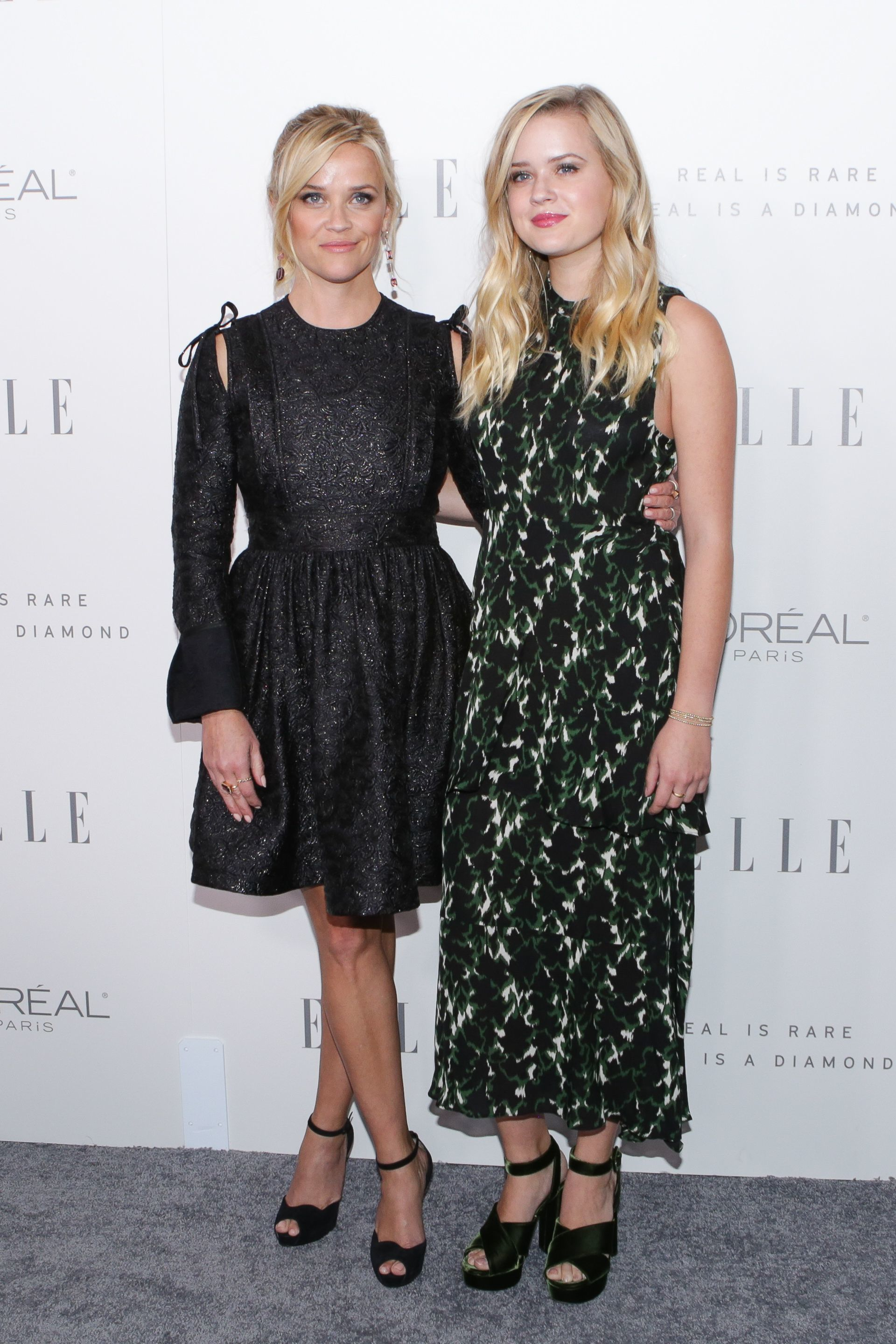 Reese Witherspoon and Ava Phillippe attend the Elle Women In Hollywood in Los Angeles on Oct. 16, 2017.