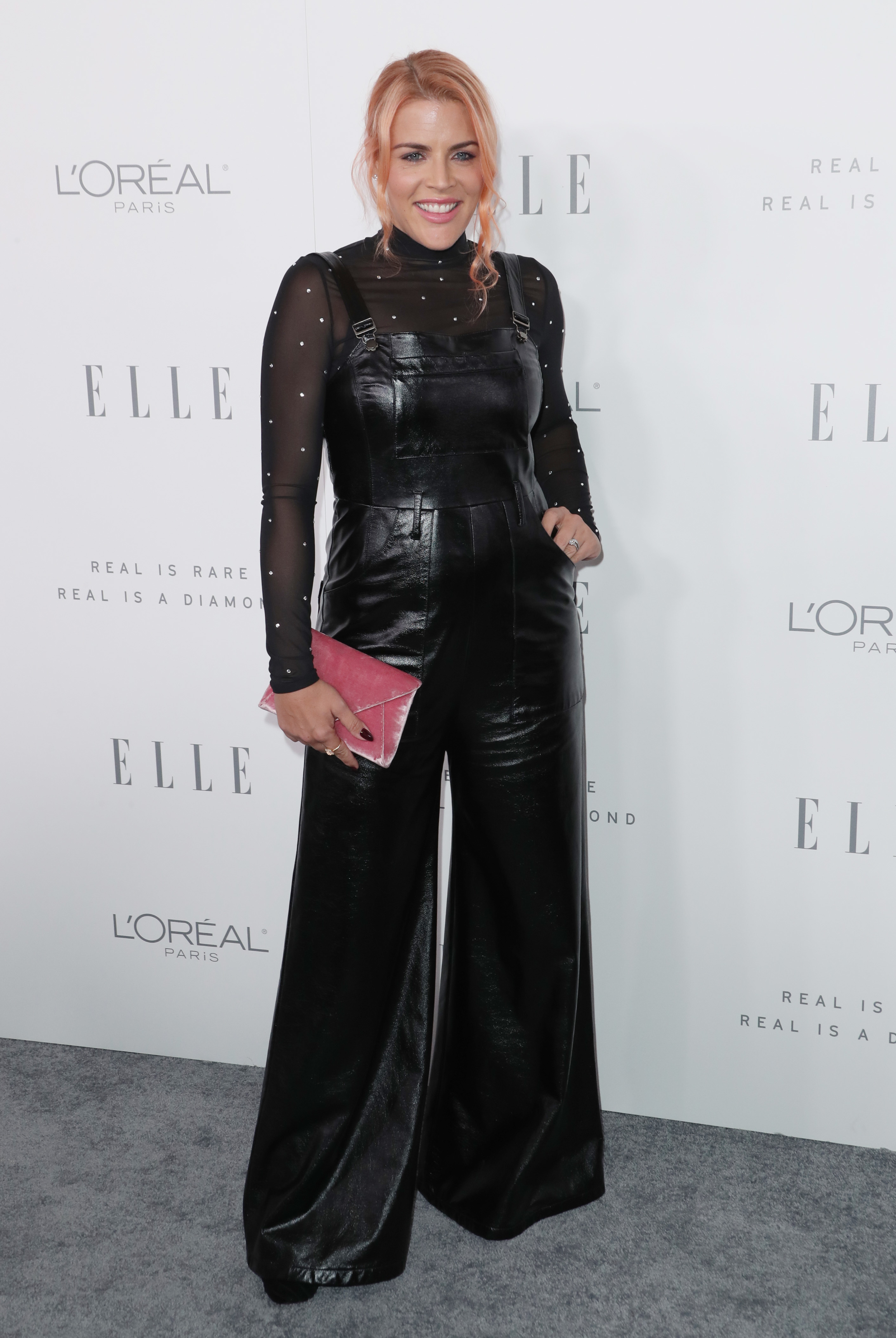 Busy Philipps attends the Elle Women In Hollywood in Los Angeles on Oct. 16, 2017.
