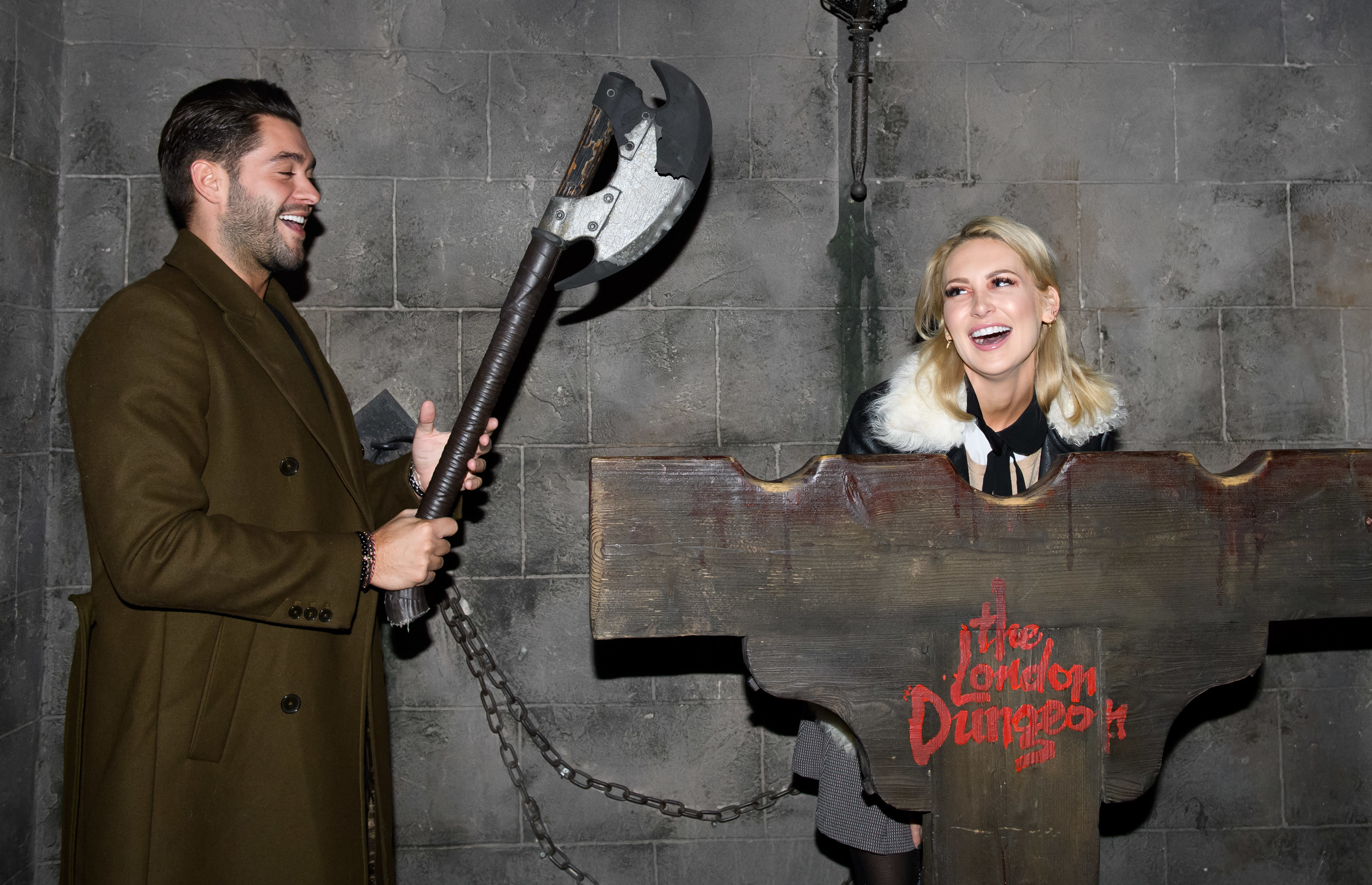 Stephanie Pratt attends the new Death Express Halloween show at the London Dungeon on Oct. 4, 2017.