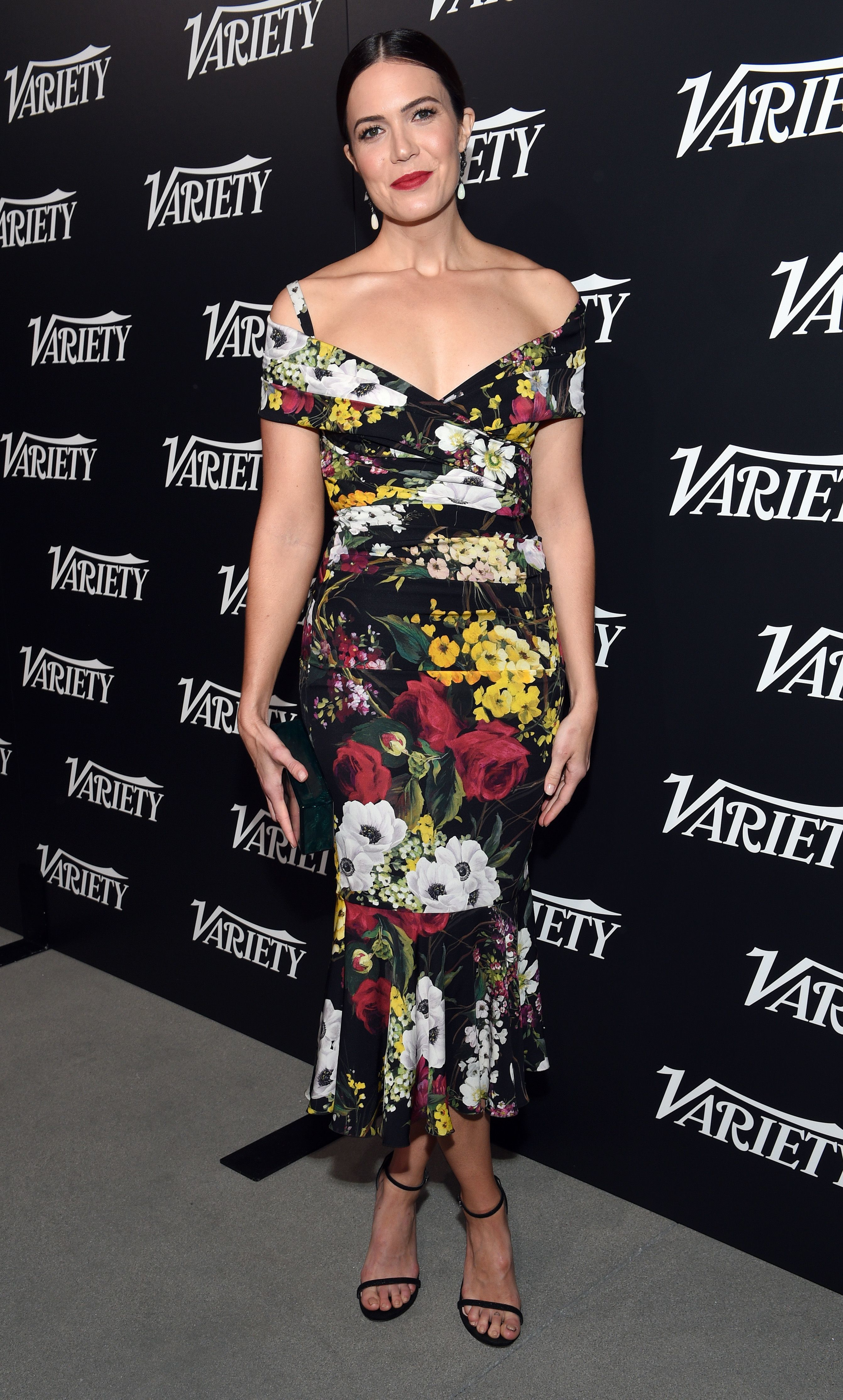 Mandy Moore attends the Variety New Leaders in Los Angeles on Oct. 18, 2017.