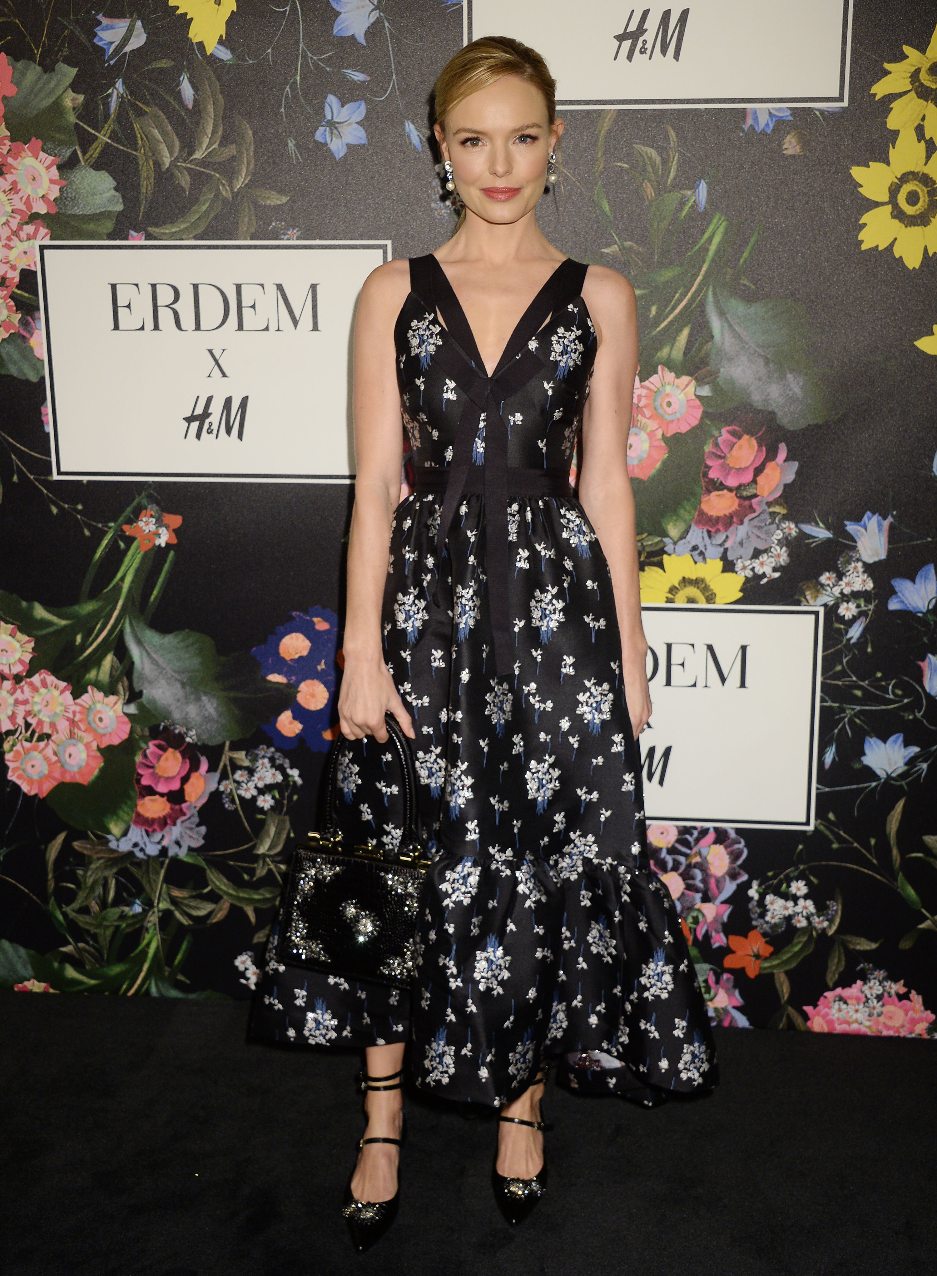 Kate Bosworth attends the Erdem x H&M Launch event in Los Angeles on Oct. 18, 2017.