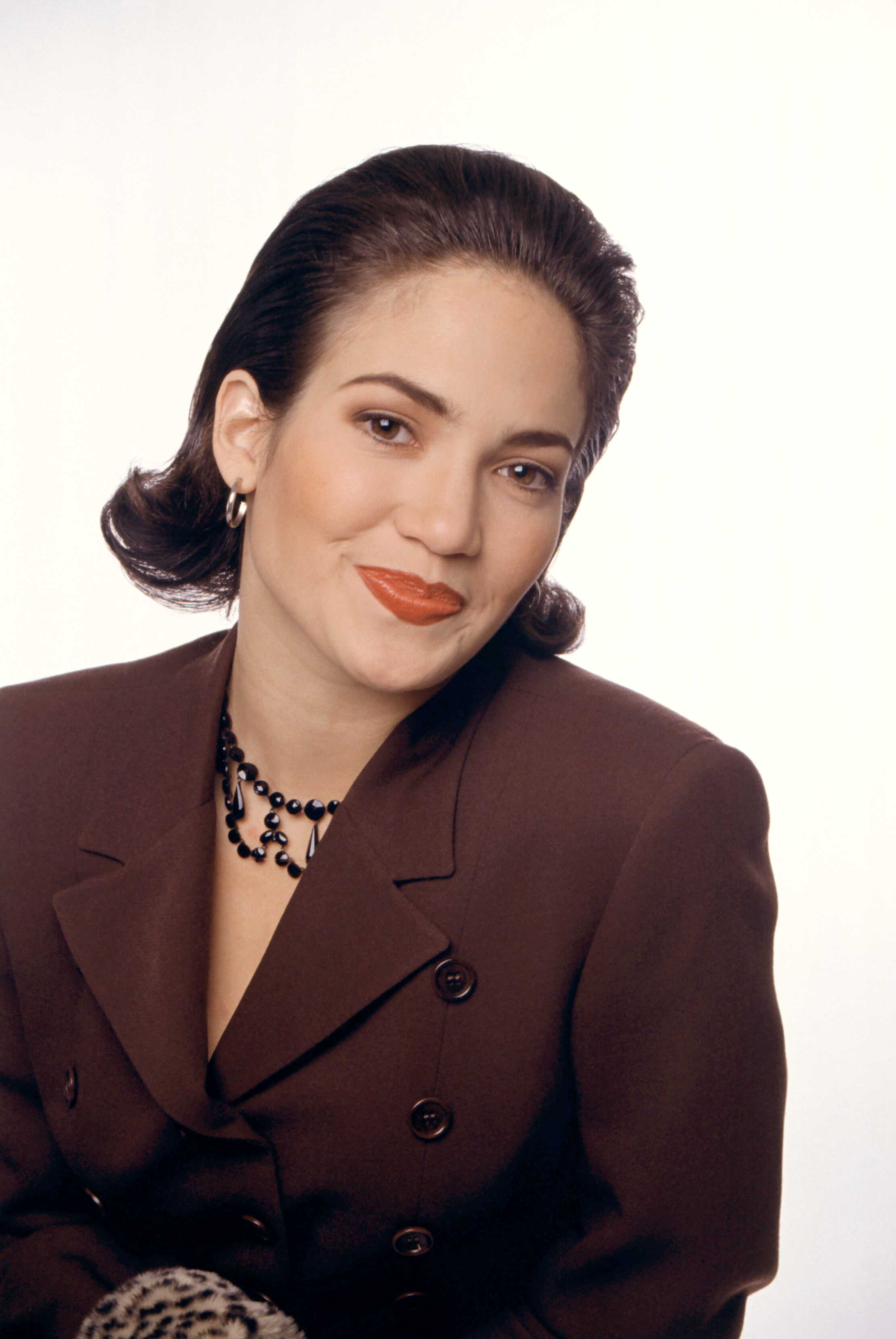 Actress and singer Jennifer Lopez poses for a portrait in Los Angeles circa 1992.