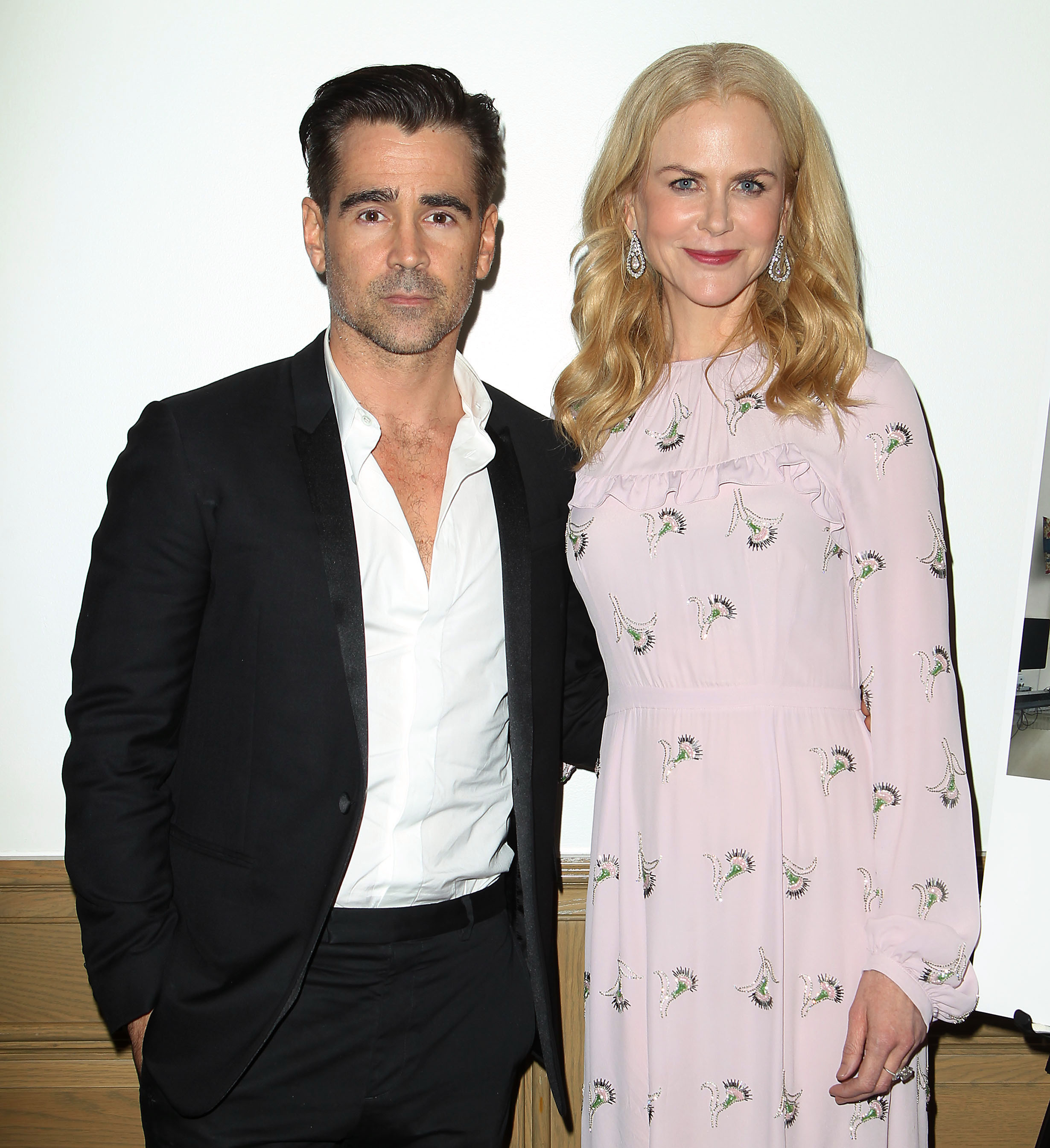 "Colin Farrell and Nicole Kidman attend a special screening of ""The Killing Of A Sacred Deer"" in New York on Oct. 21, 2017."