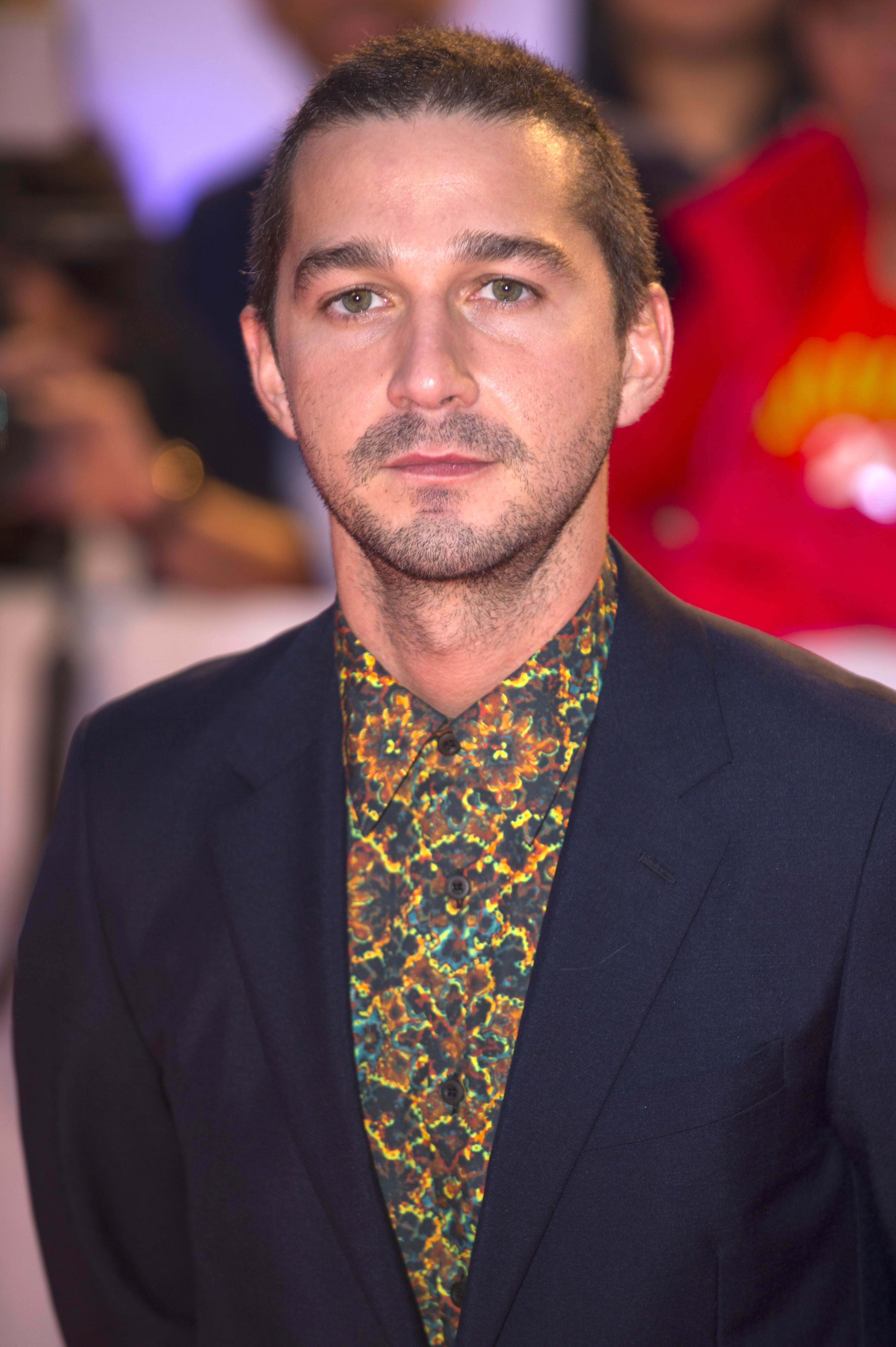 Shia LaBeouf attends the 42nd Toronto International Film Festival in Toronto on Sept. 7, 2017.
