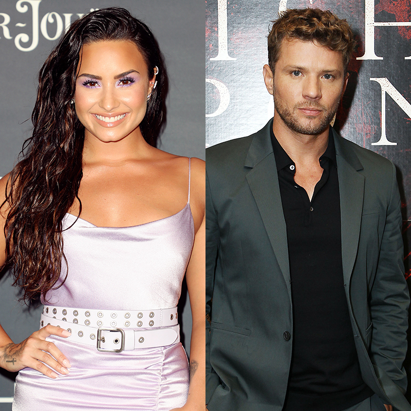 Demi Lovato and Ryan Phillippe appear in an undated composite image.